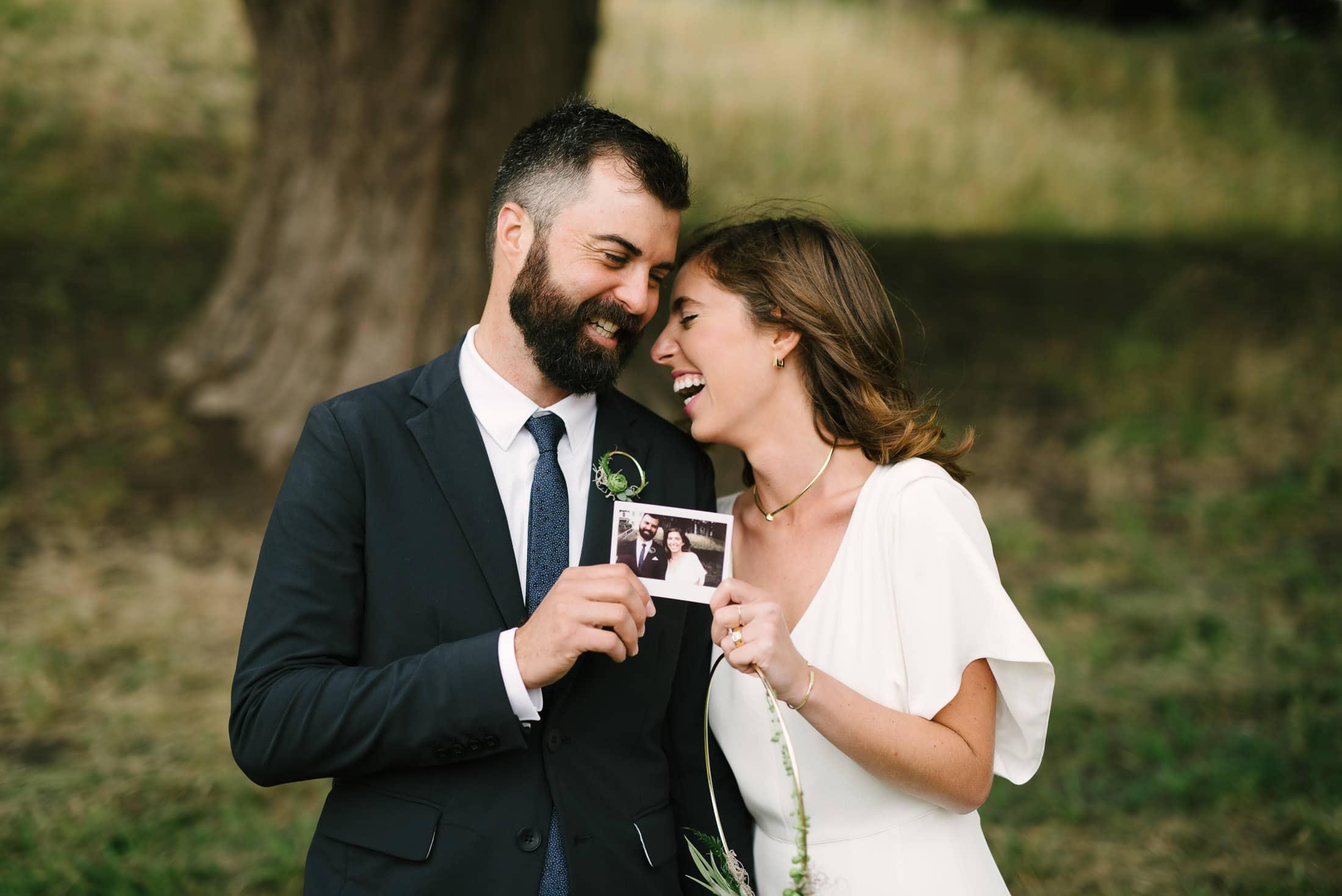 Marin Headland Wedding Portrait