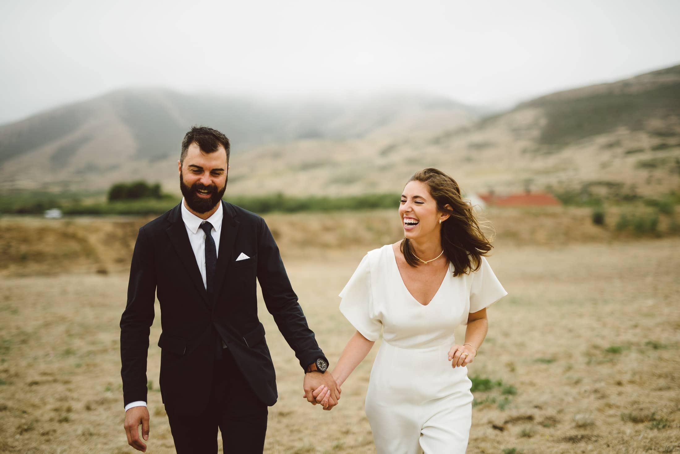 Marin Headland Wedding Portrait