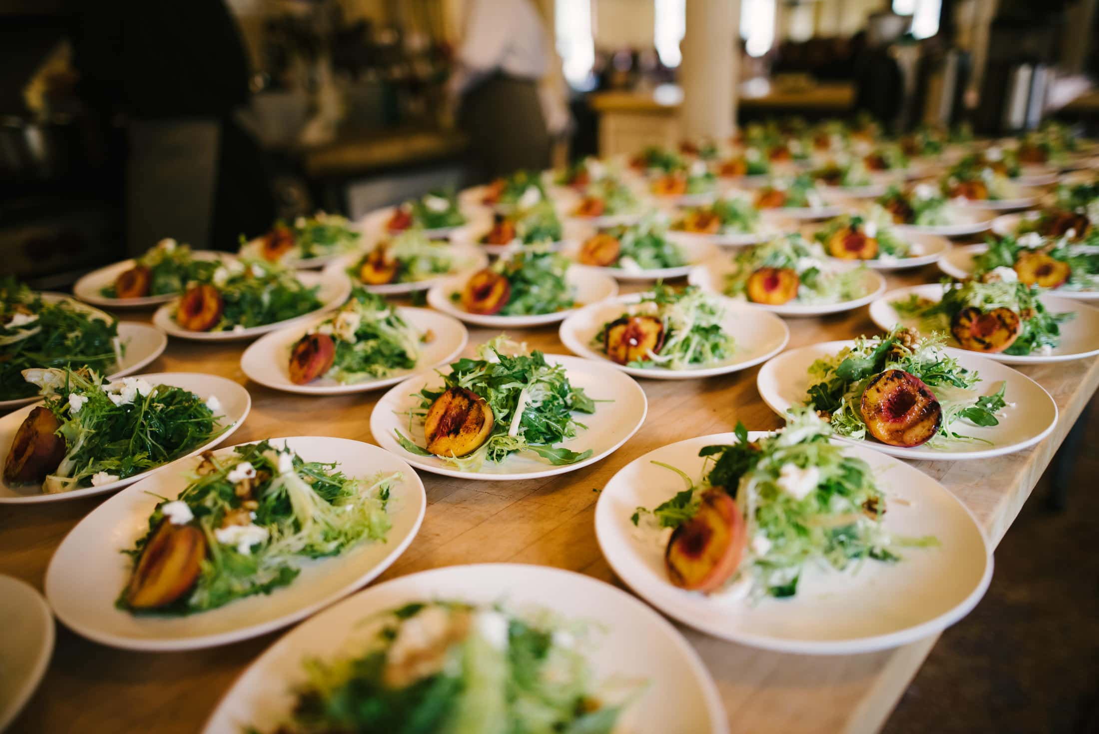 Marin Headland Center for the Arts Wedding salads