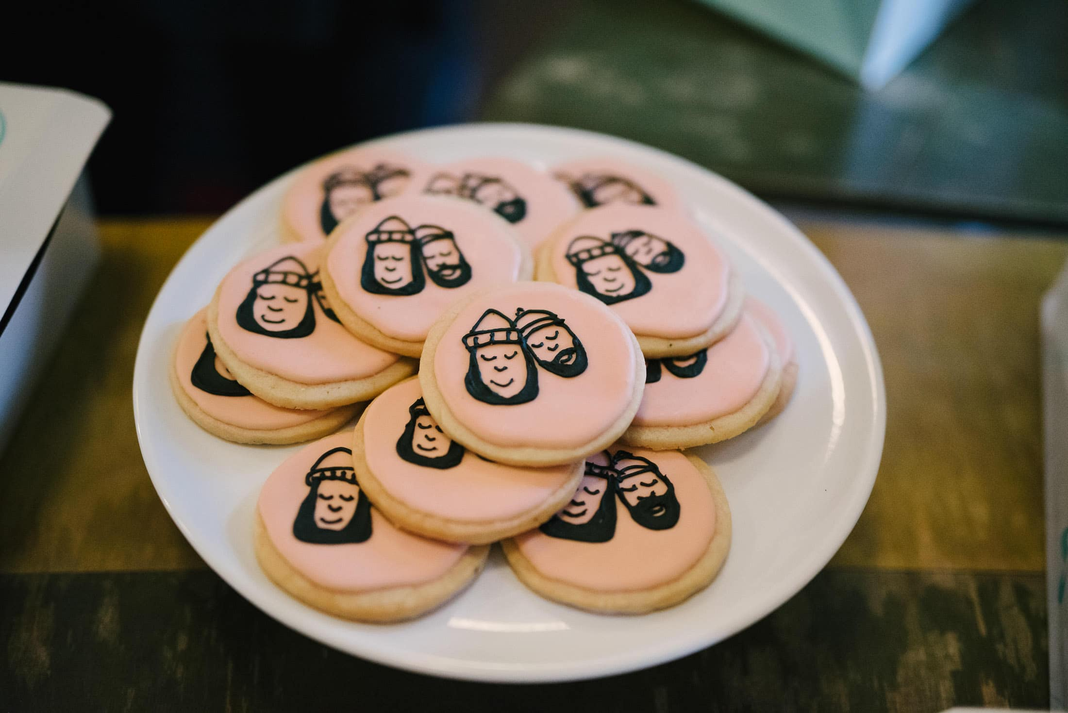 Marin Headland Center for the Arts Wedding Custom Cookies