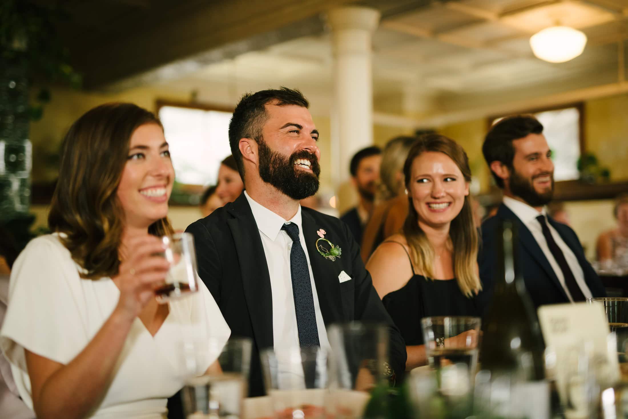 Marin Headland Center for the Arts Wedding dinner