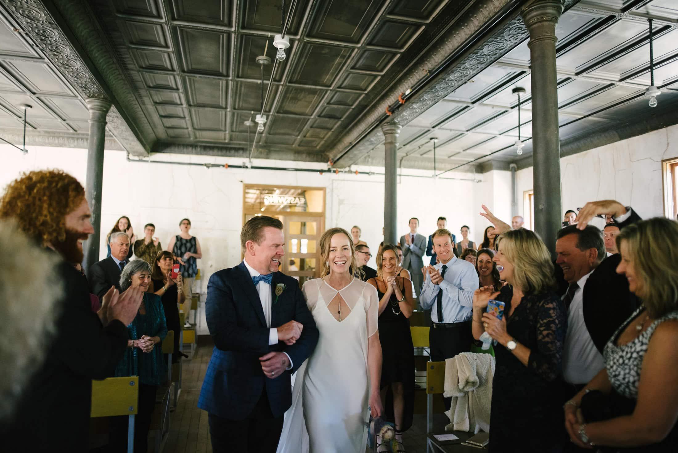 Headlands Center for the Arts Wedding Ceremony