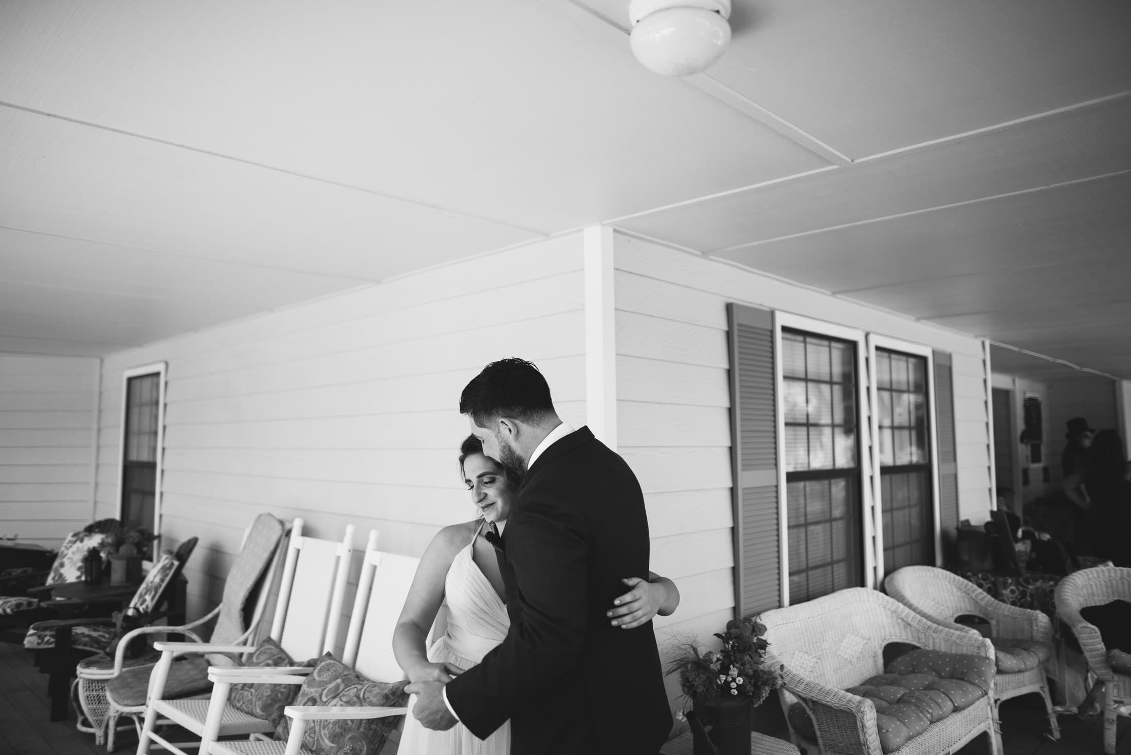 Wedding First Look in Sebastopol
