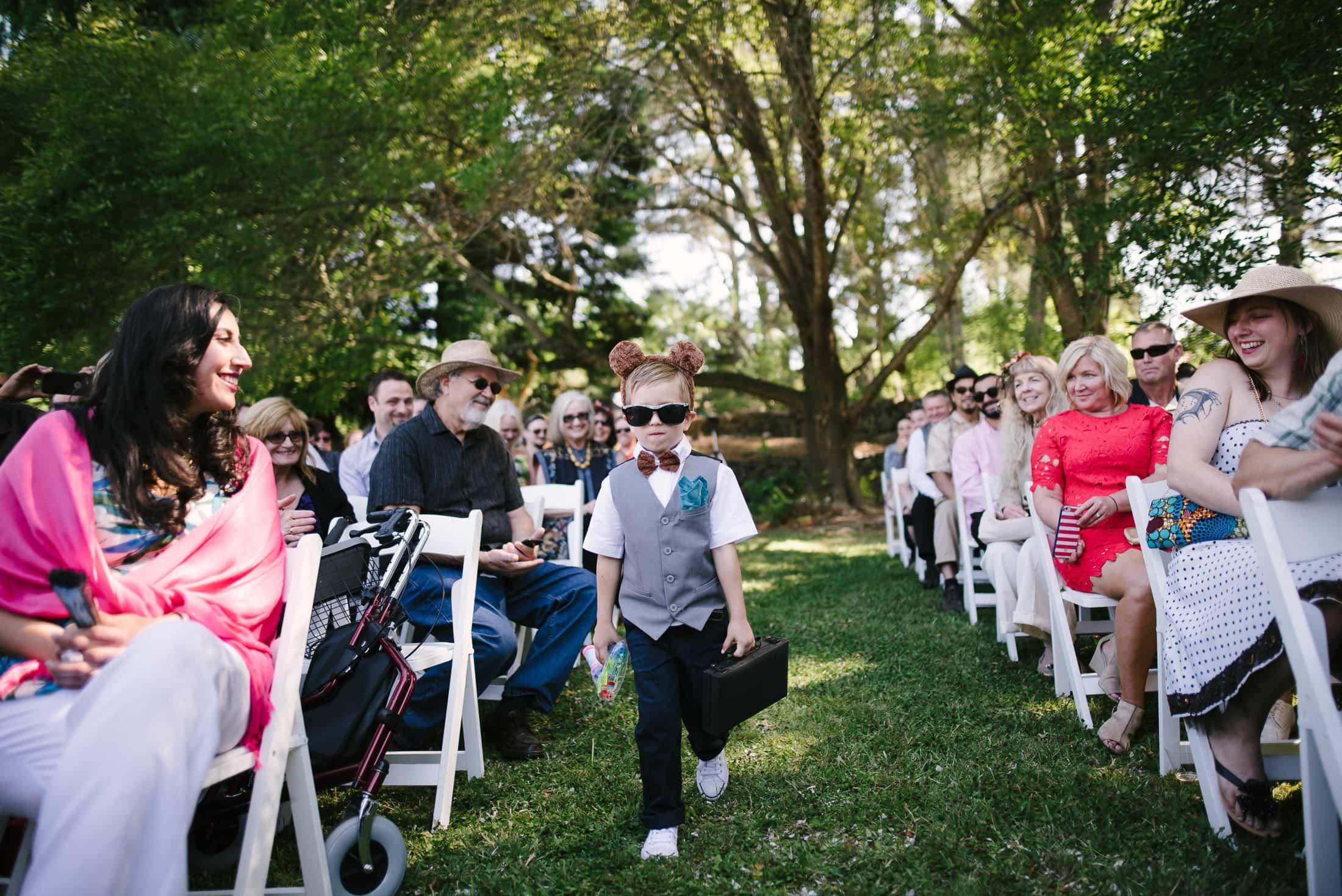 Wedding Ceremony in Sebastopol