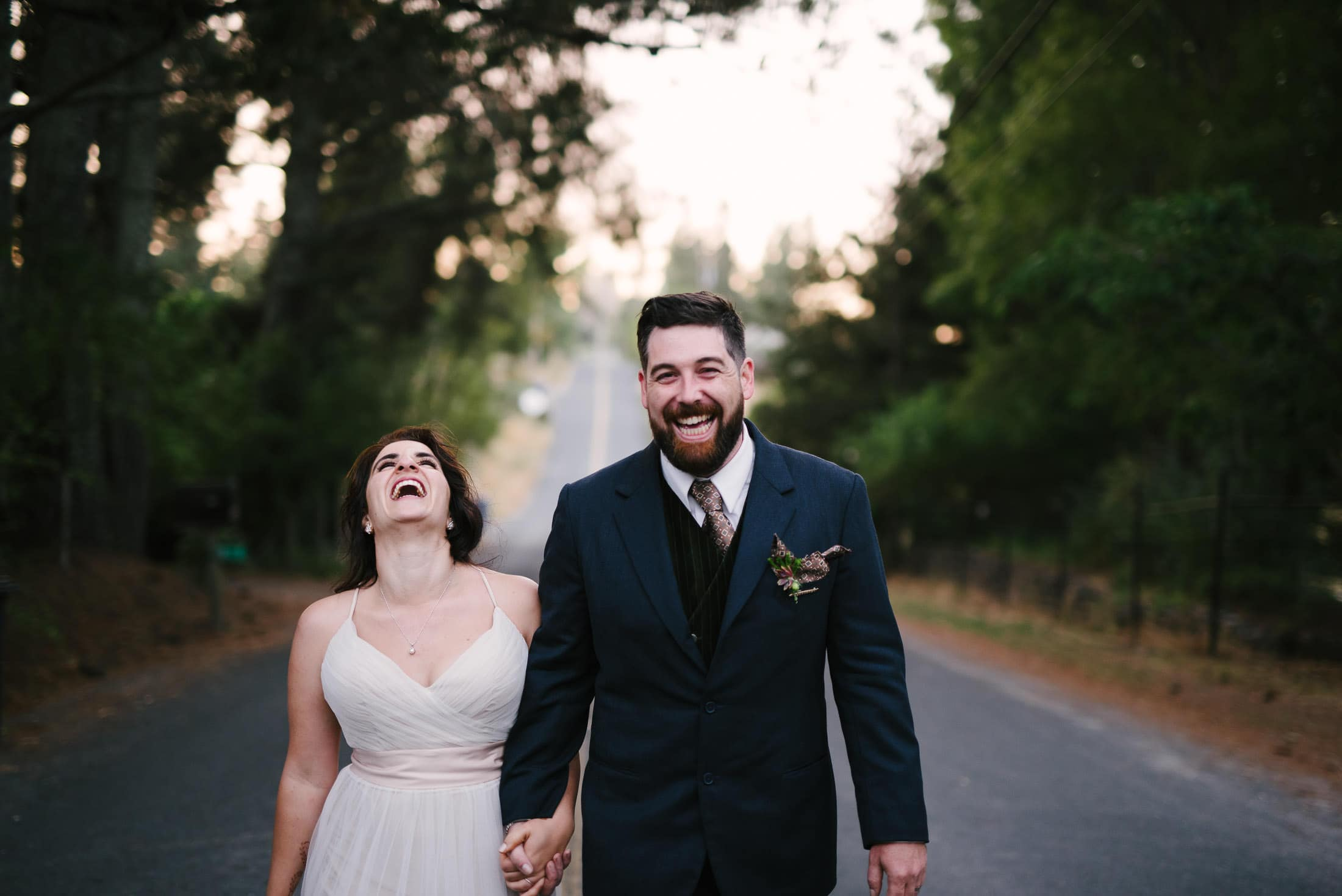 Wedding in Sebastopol Couple Portrait