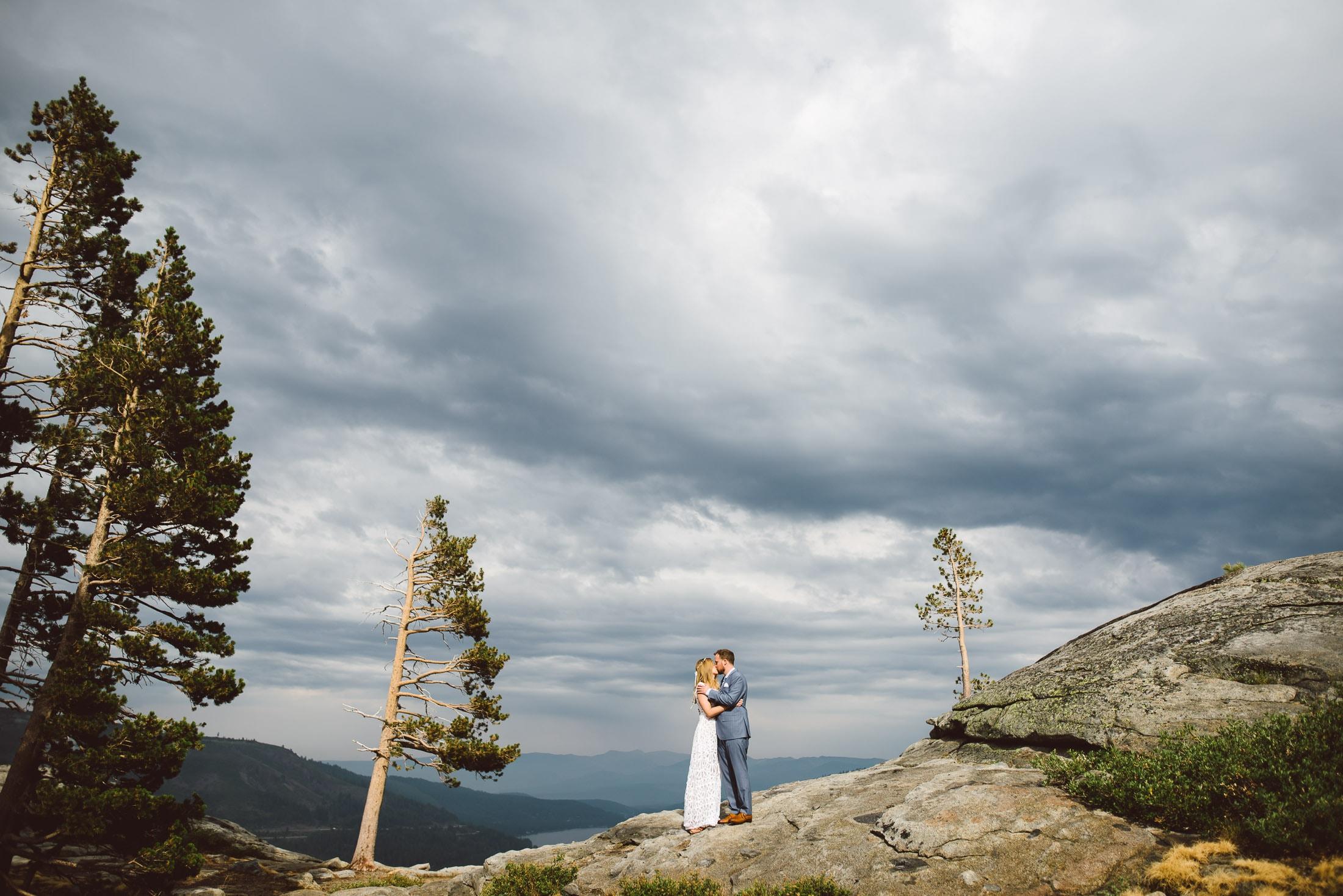 Lake Tahoe Wedding Portrait