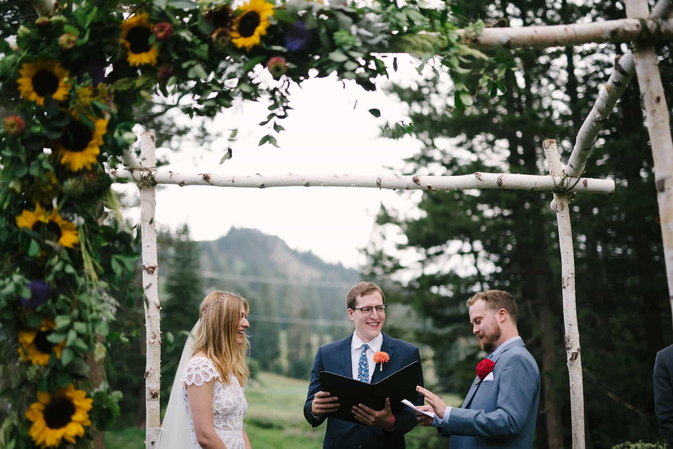 Sugar Bowl Wedding Ceremony