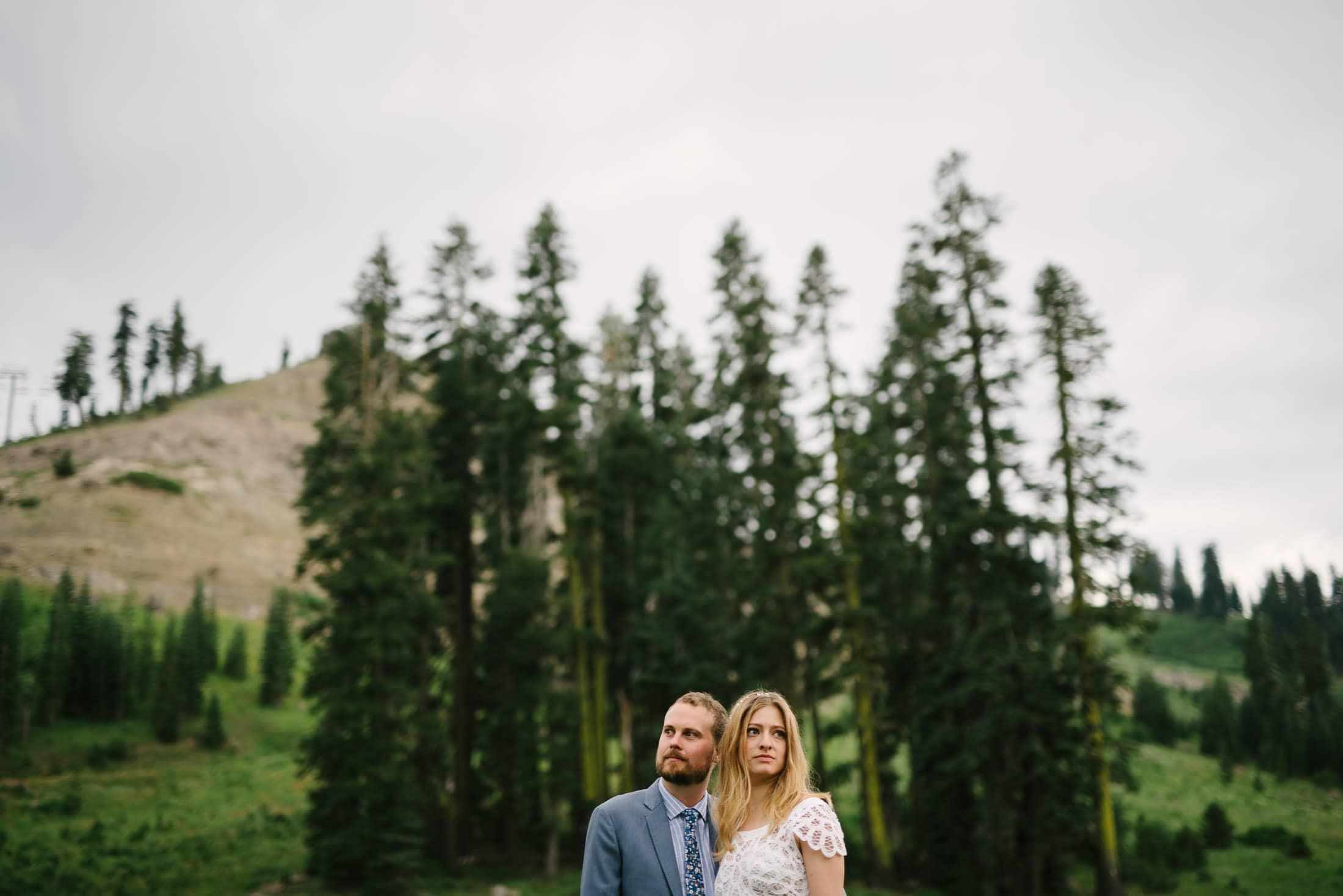 Sugar Bowl Wedding Portrait