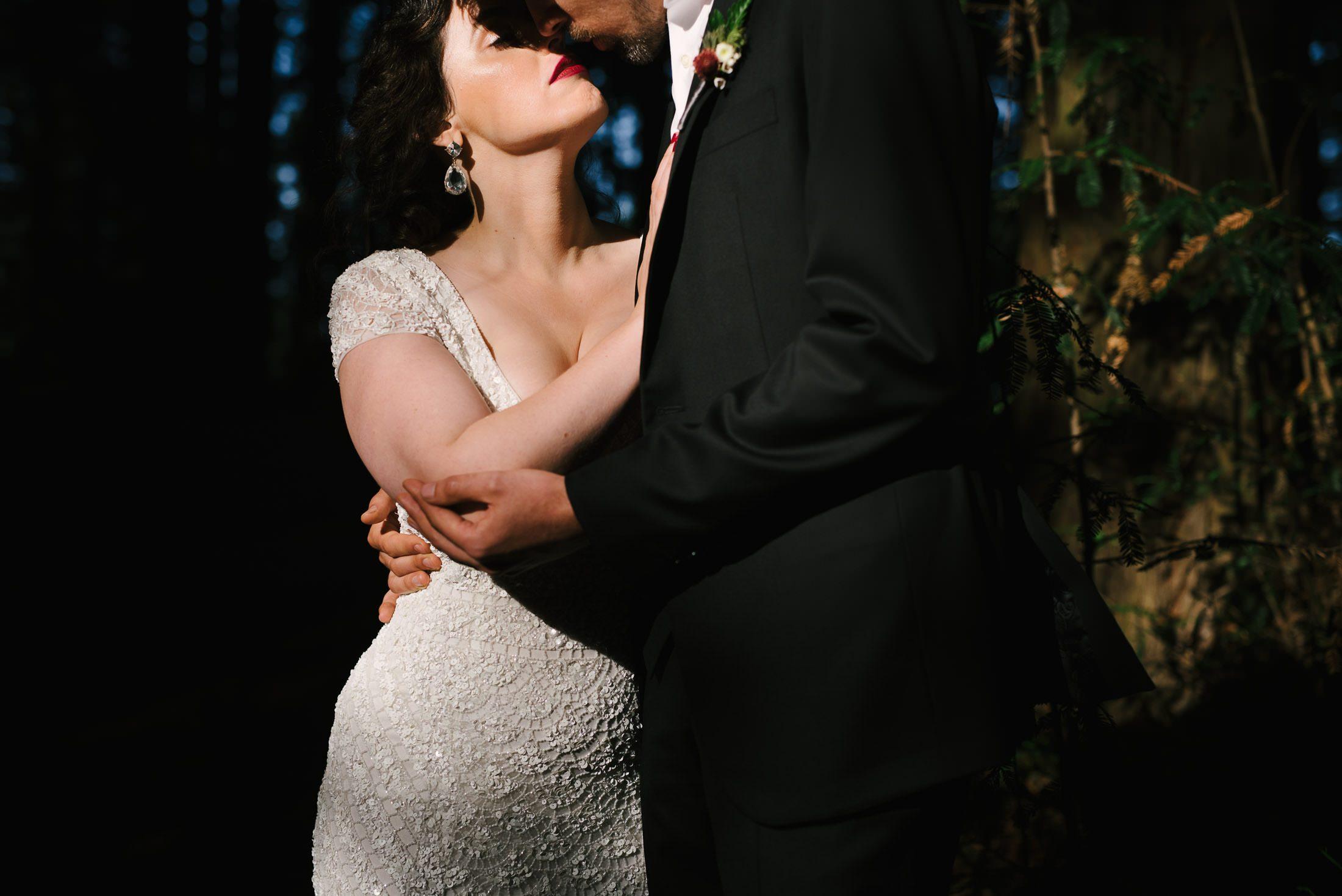Robert's Regional Park wedding Portrait