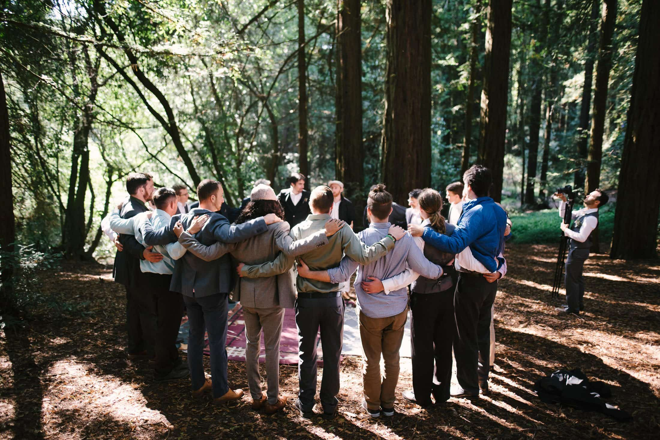 Robert's Regional Park wedding blessing ceremony