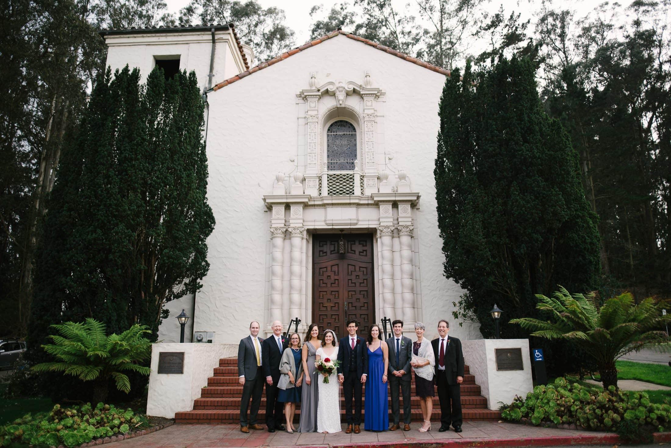 Presidio Chapel Wedding