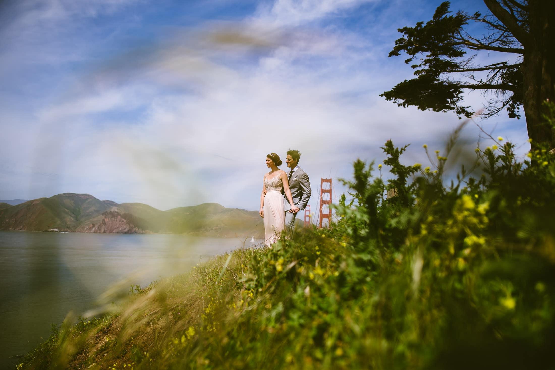 Golden Gate Bridge Wedding Pictures