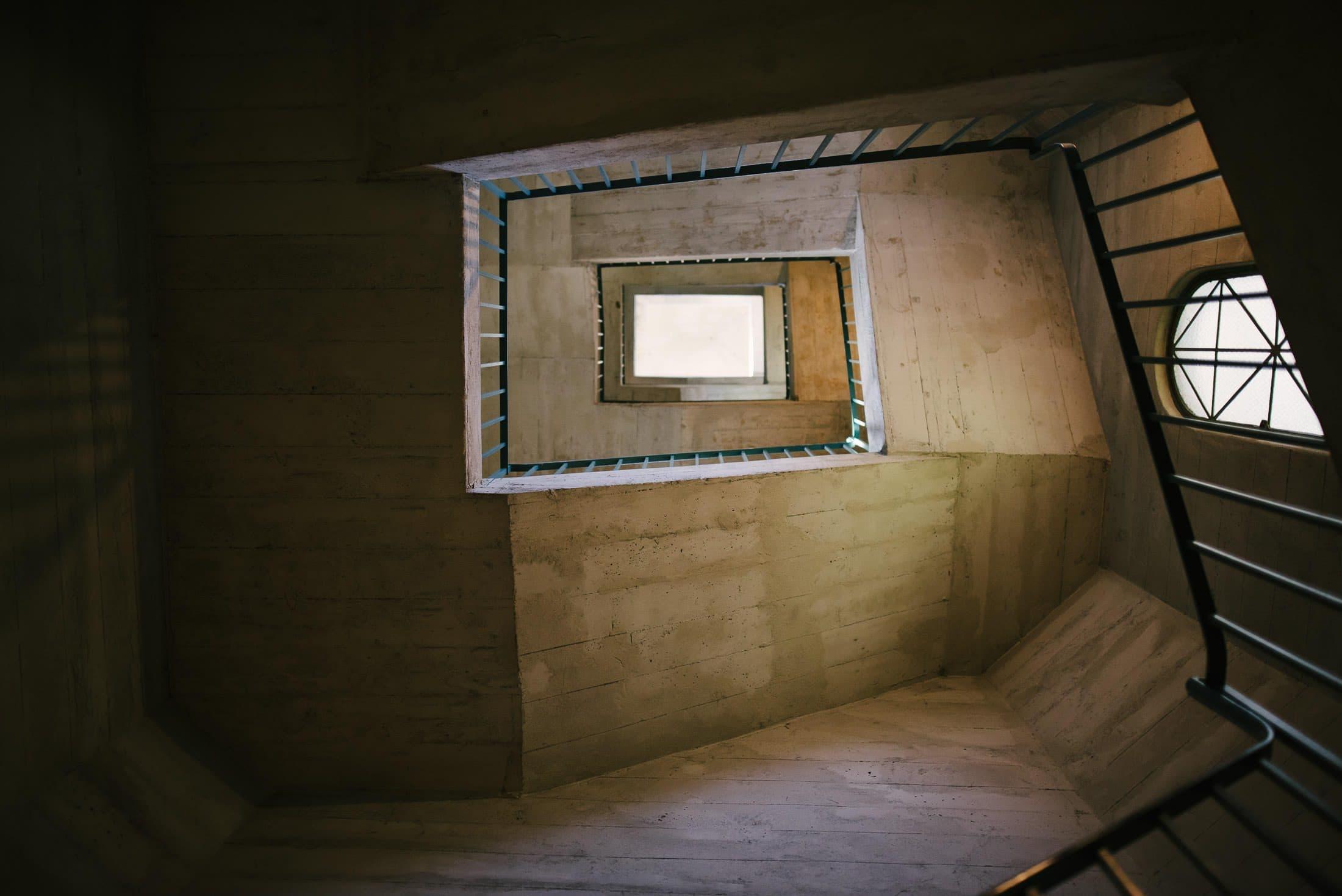 Stairway at Berkeley City Club