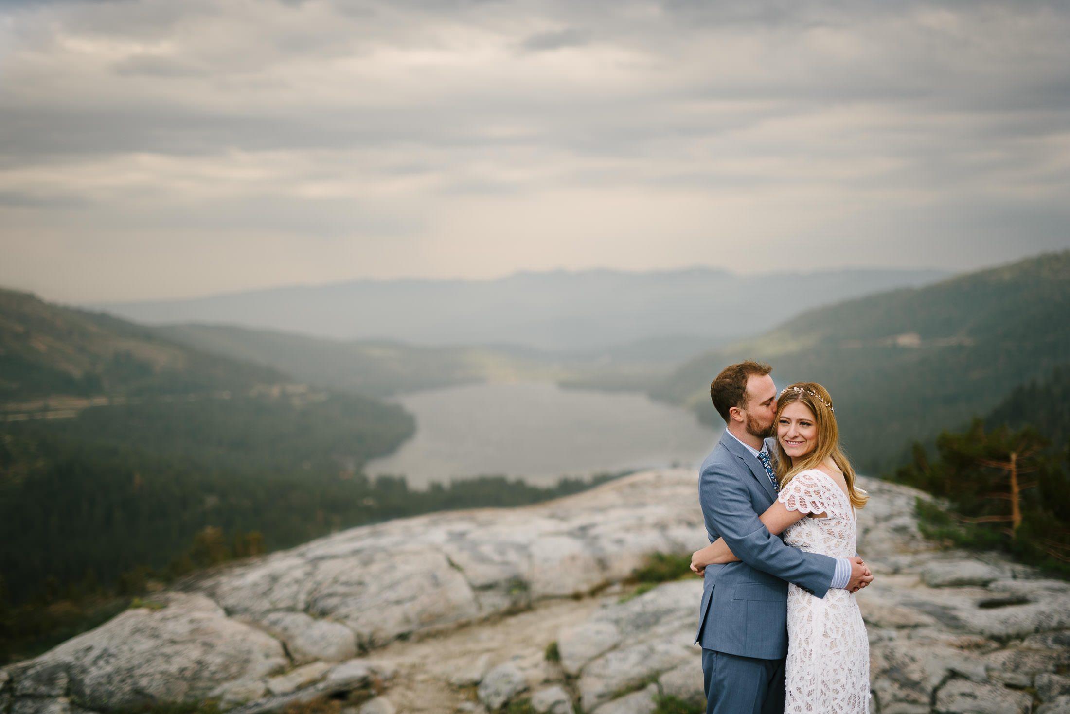 Lake Tahoe Wedding Picture