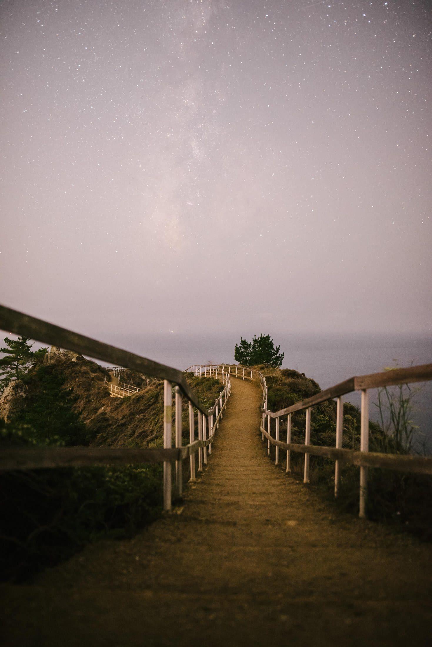 Muir Beach Outlook Night Photography