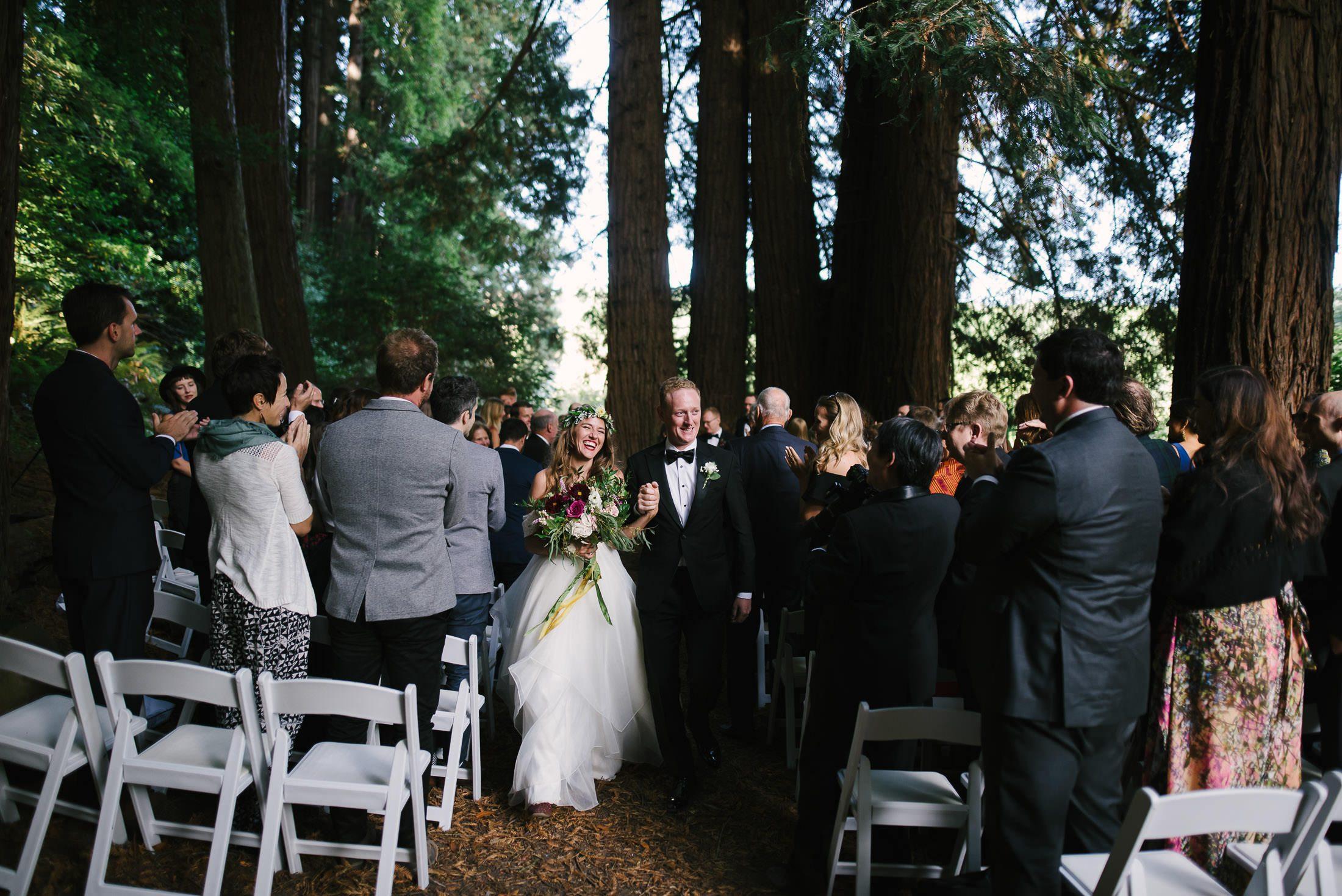 Oz Farm Wedding Ceremony