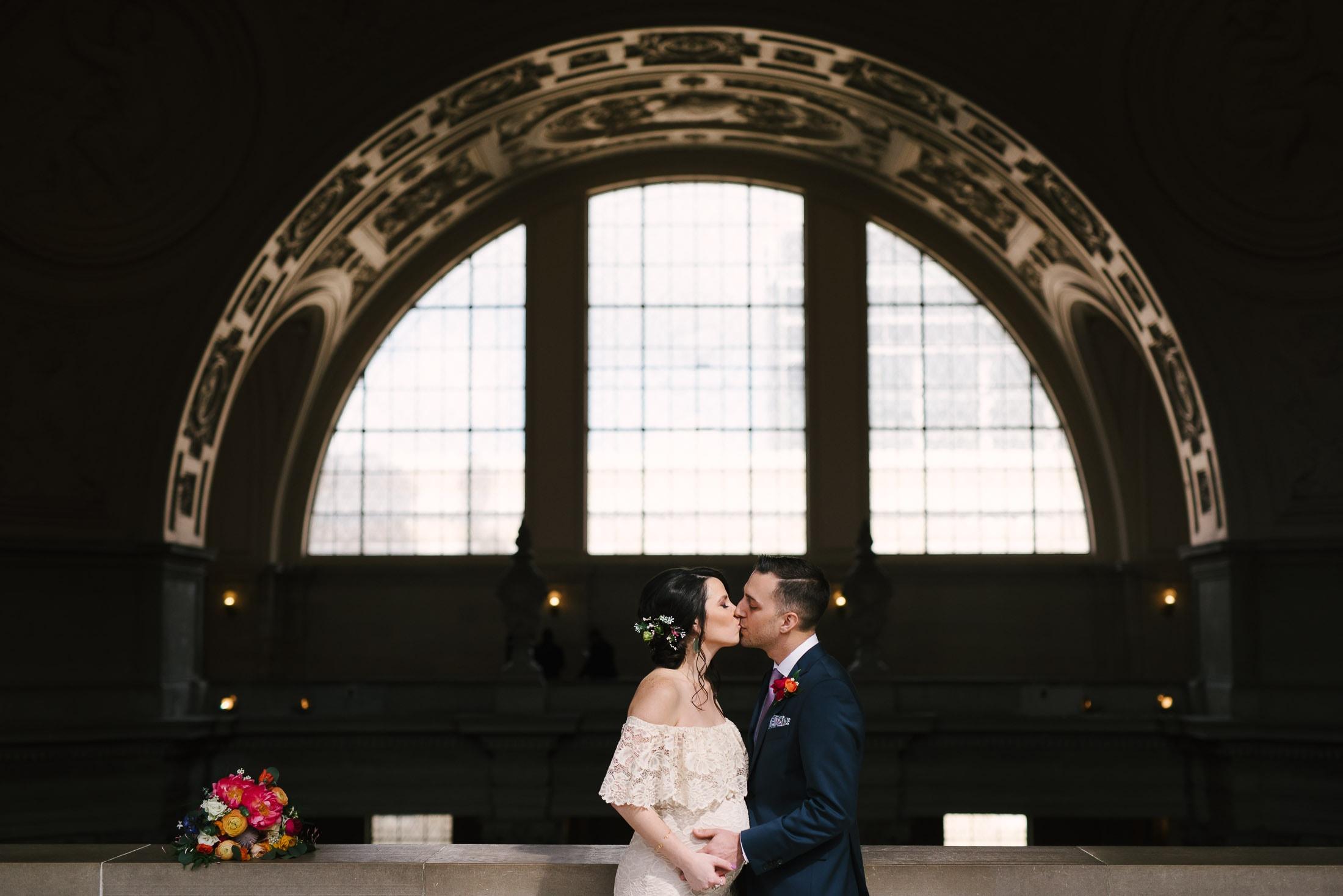 San Francisco City Hall Wedding 4th Floor