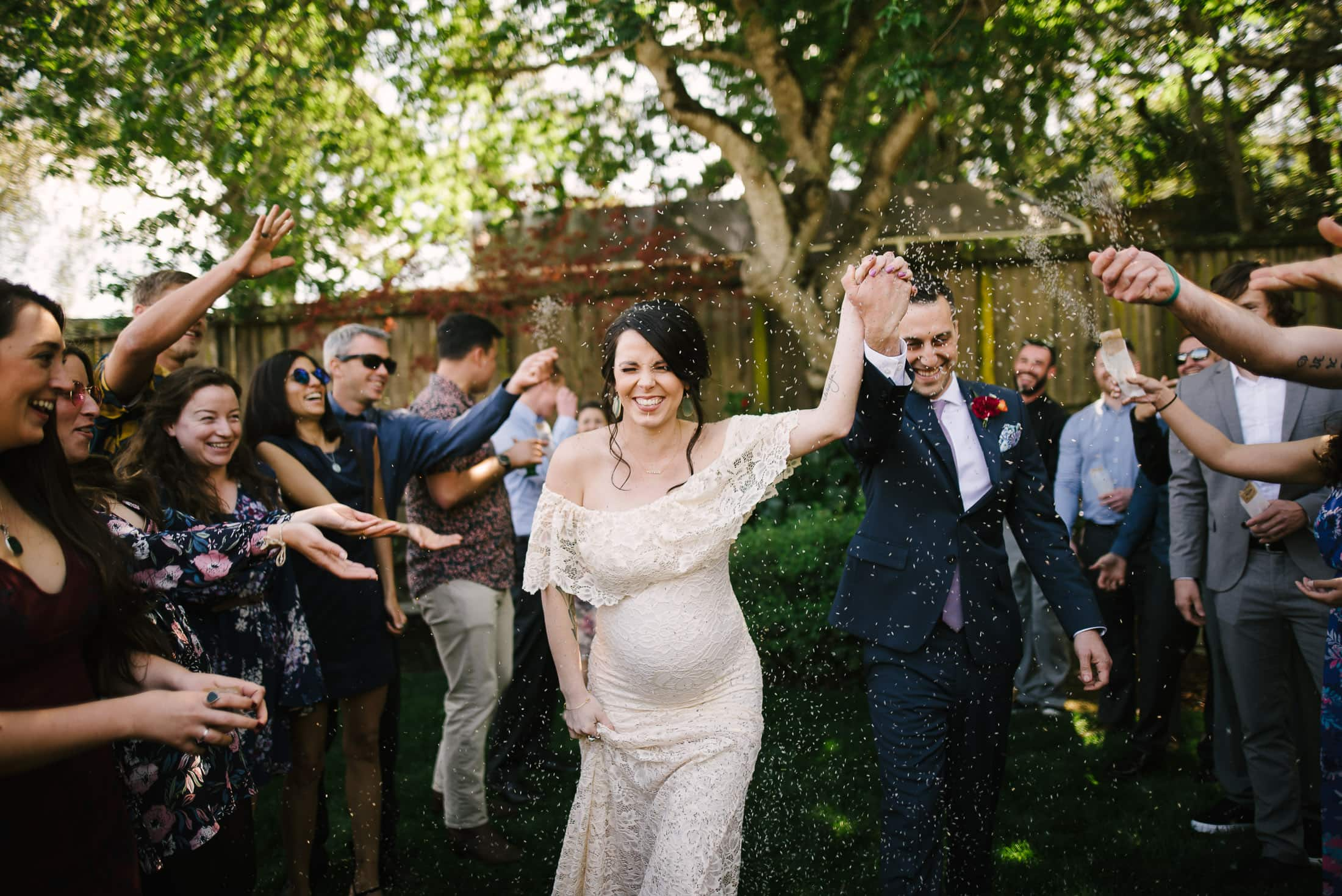 South Bay Back Yard Wedding