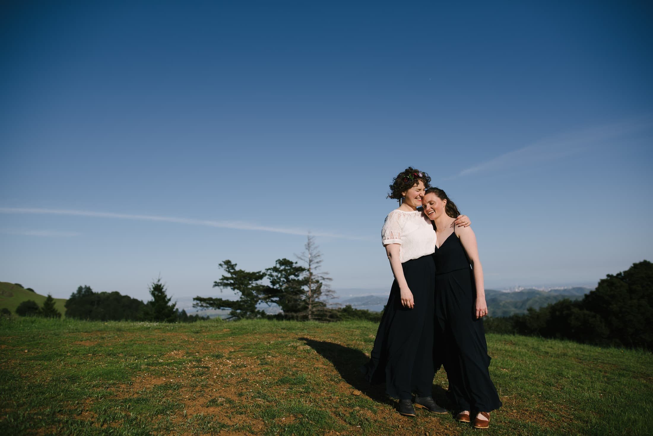 Wedding Couple on Trojan Point