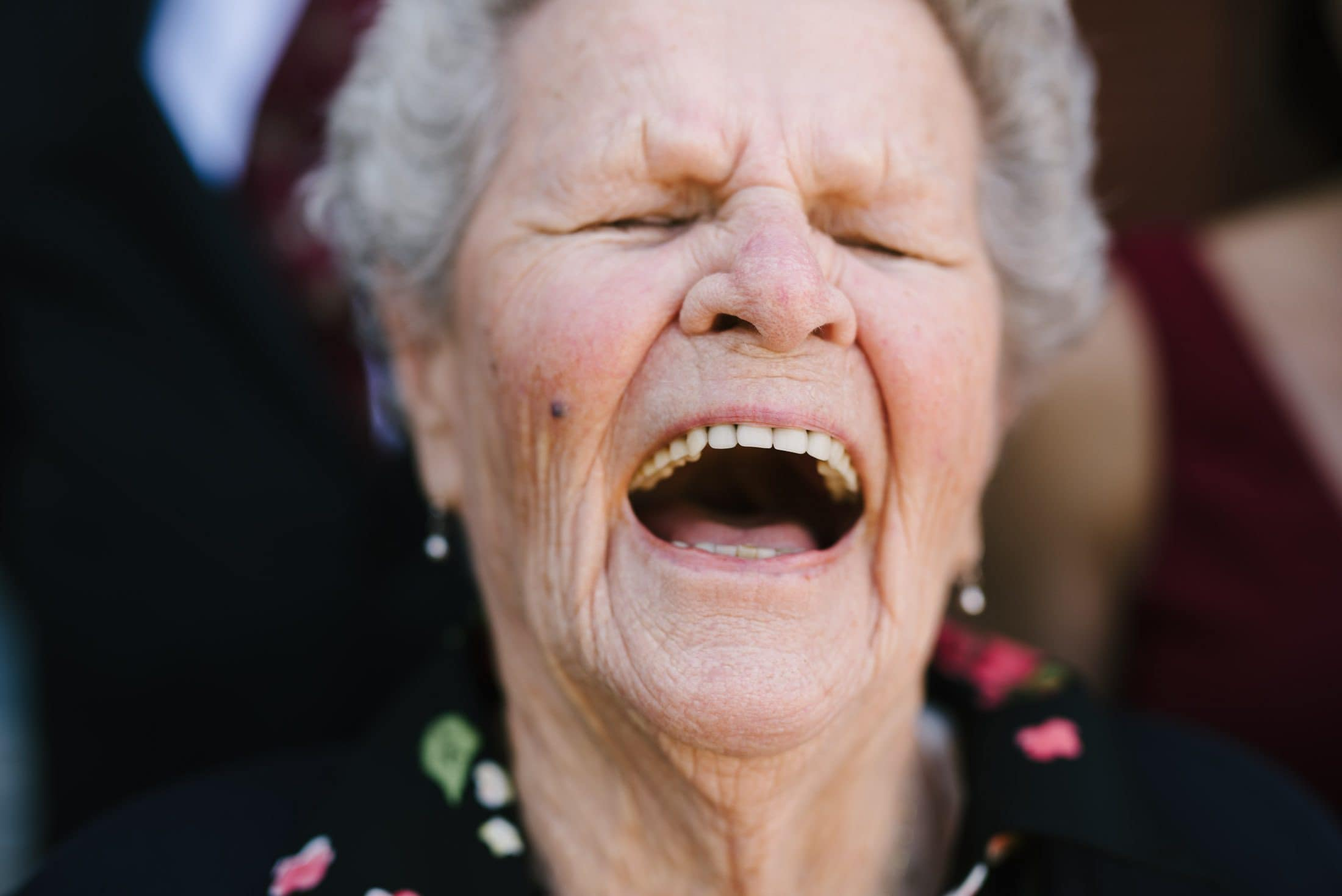 Grandma Wedding Portrait