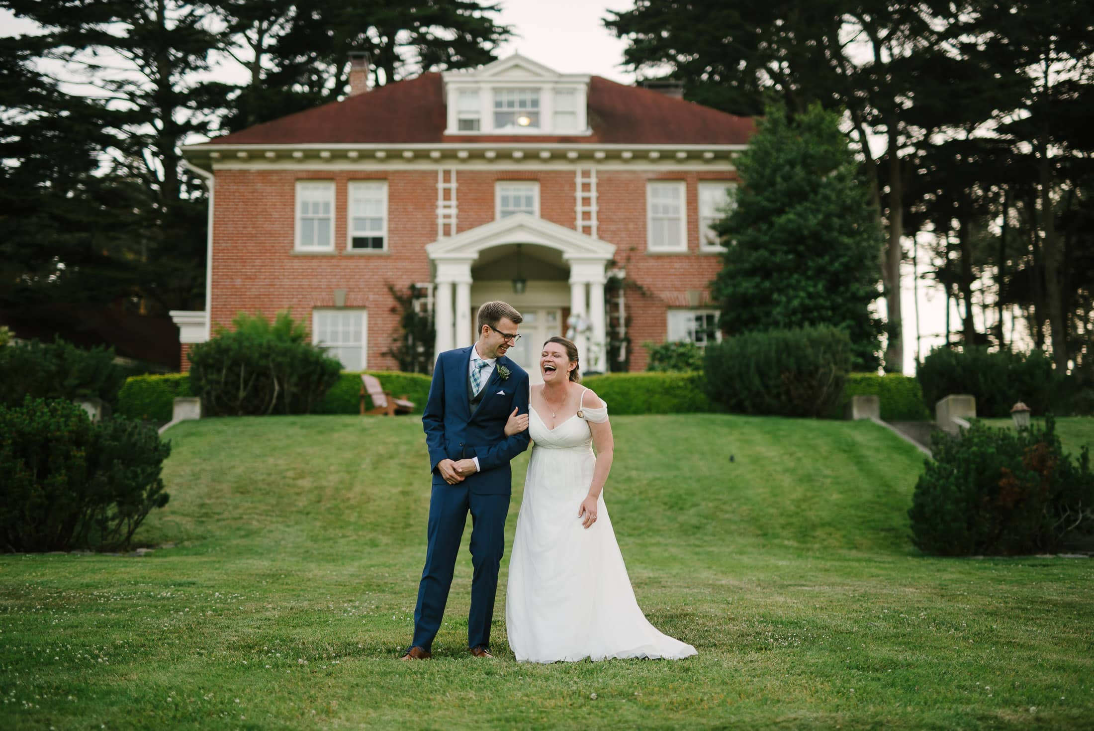 Presidio Log Cabin Wedding