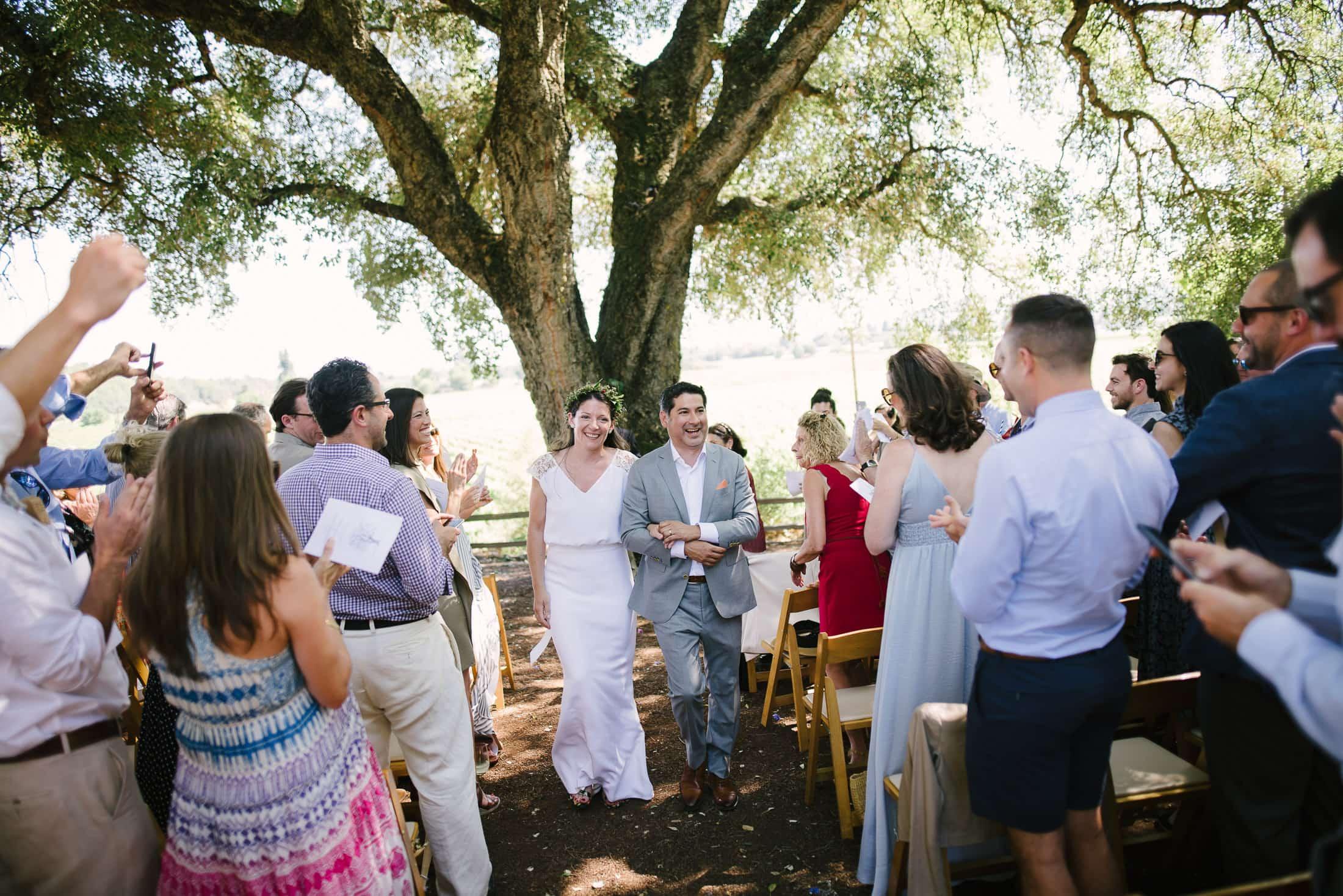 Ru's Farm Wedding Healdsburg