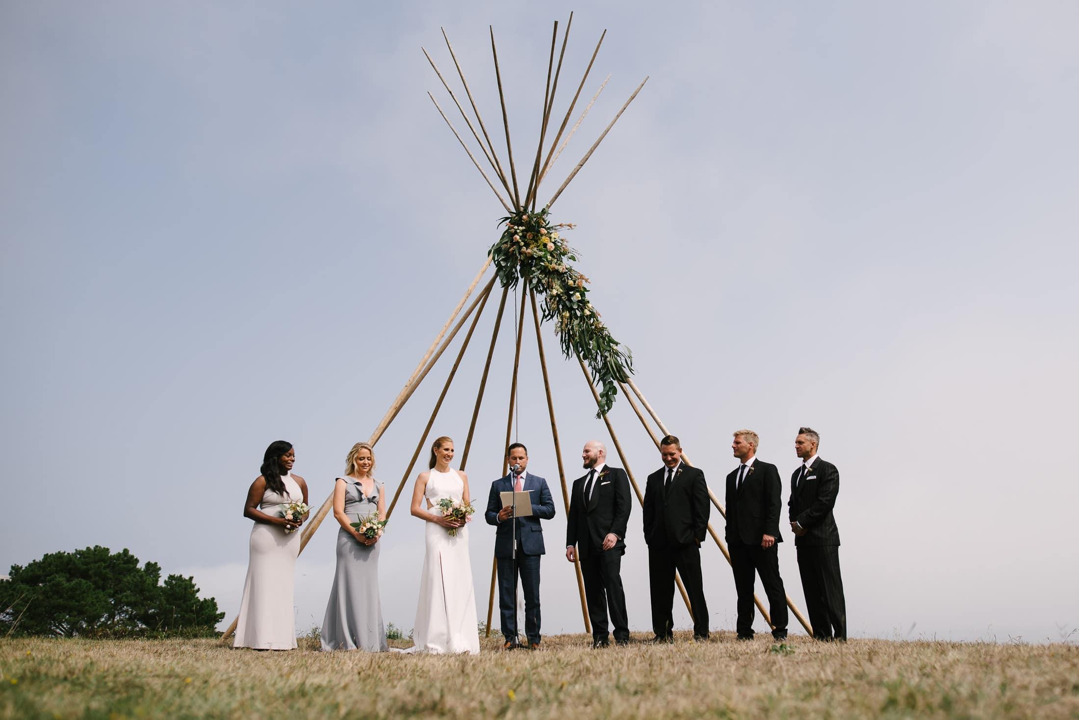 Bolinas Wedding