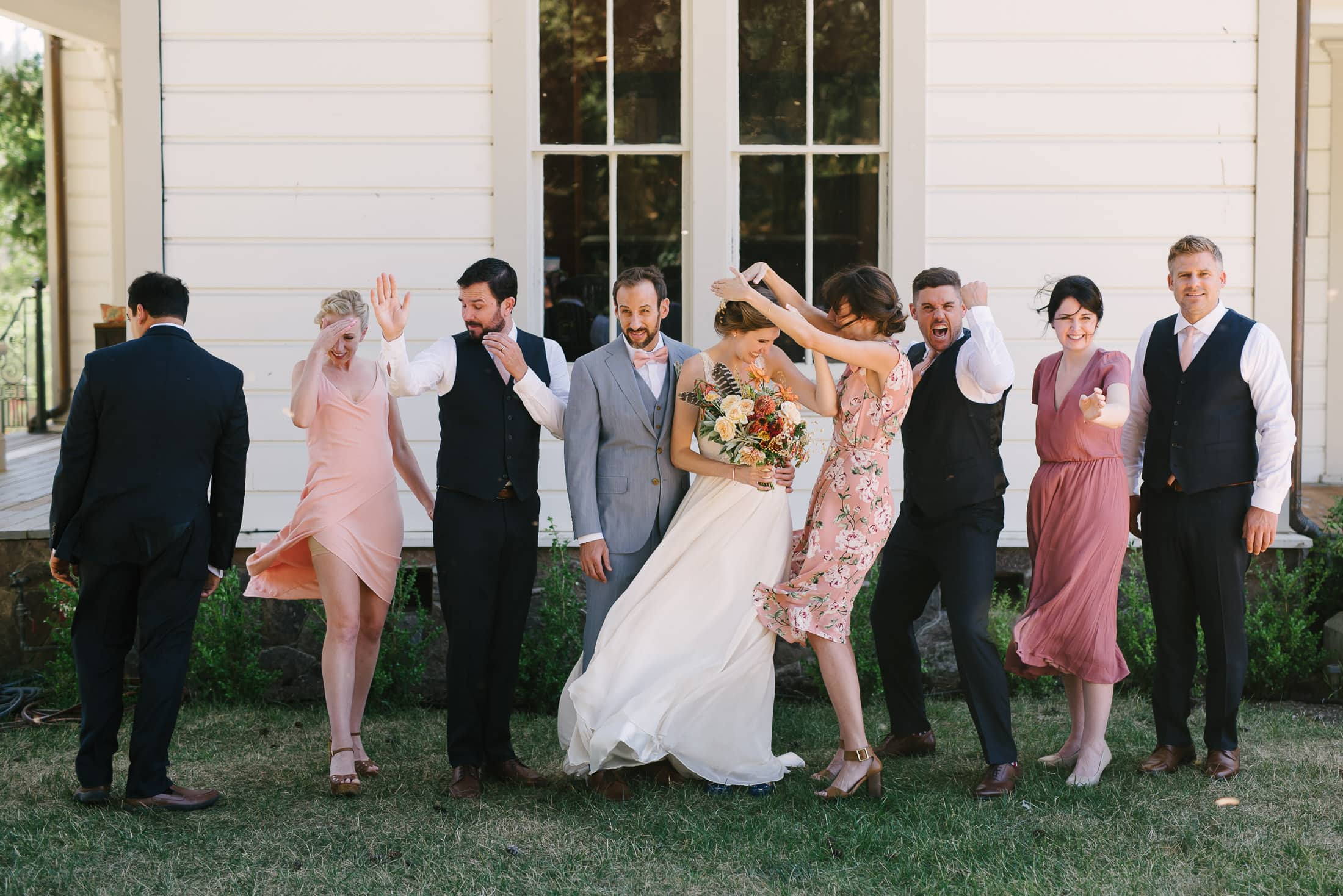 Triple S Ranch Wedding Party