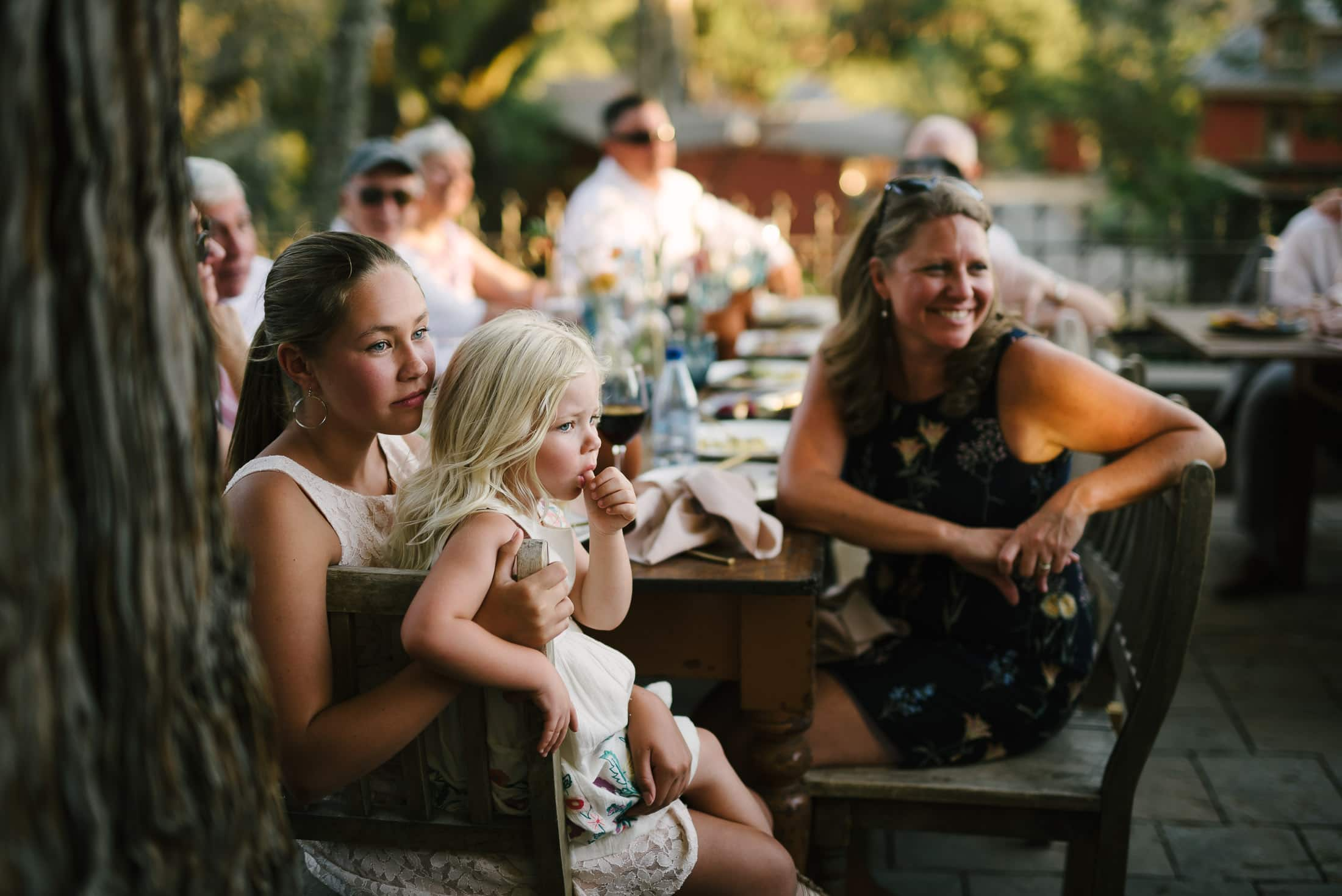 Reception at Triple S Ranch