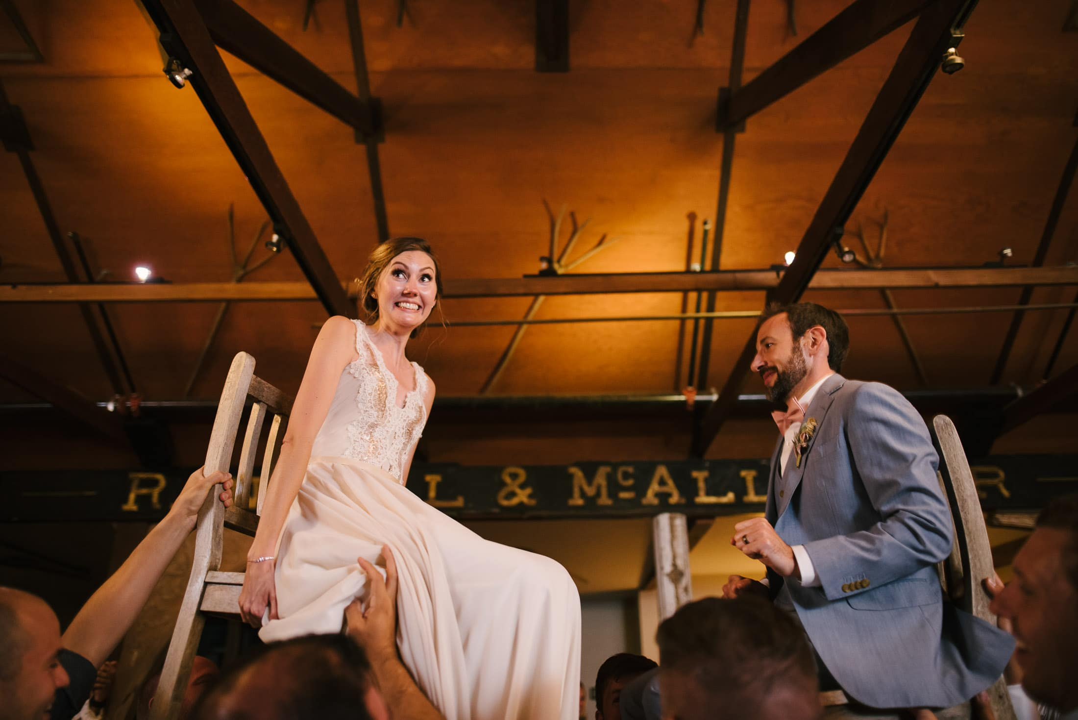 Jewish Chair Dance at Triple S Ranch