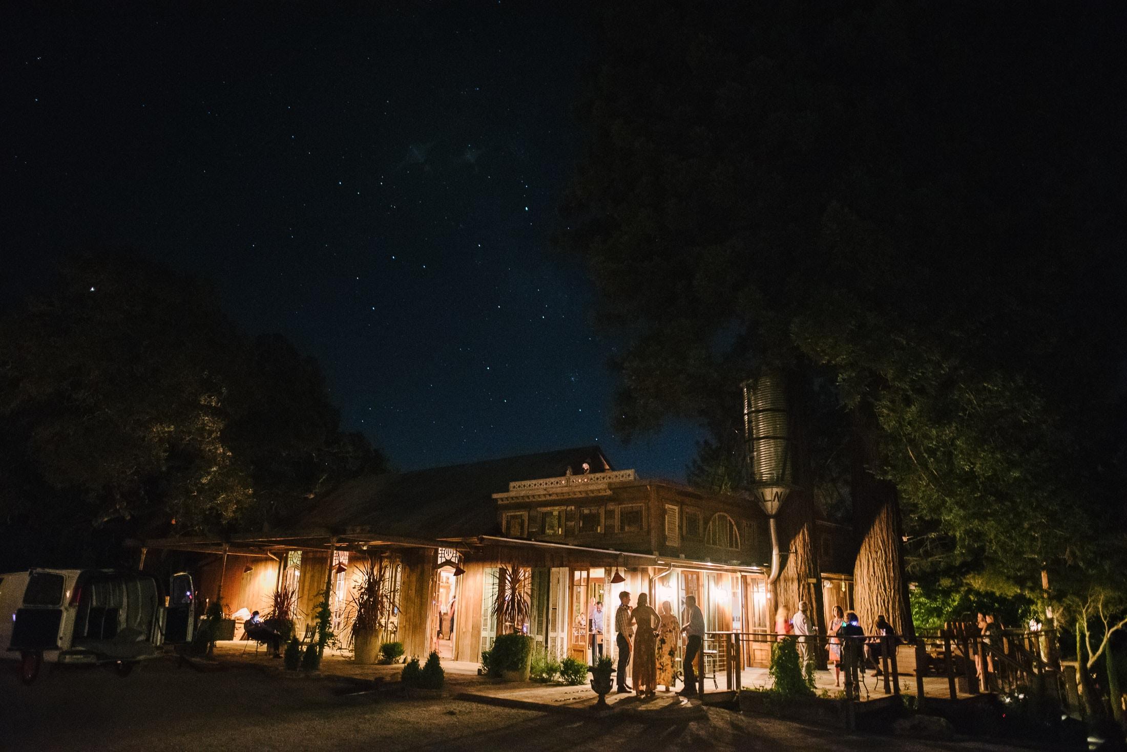Triple S Ranch Wedding Night Time Pics