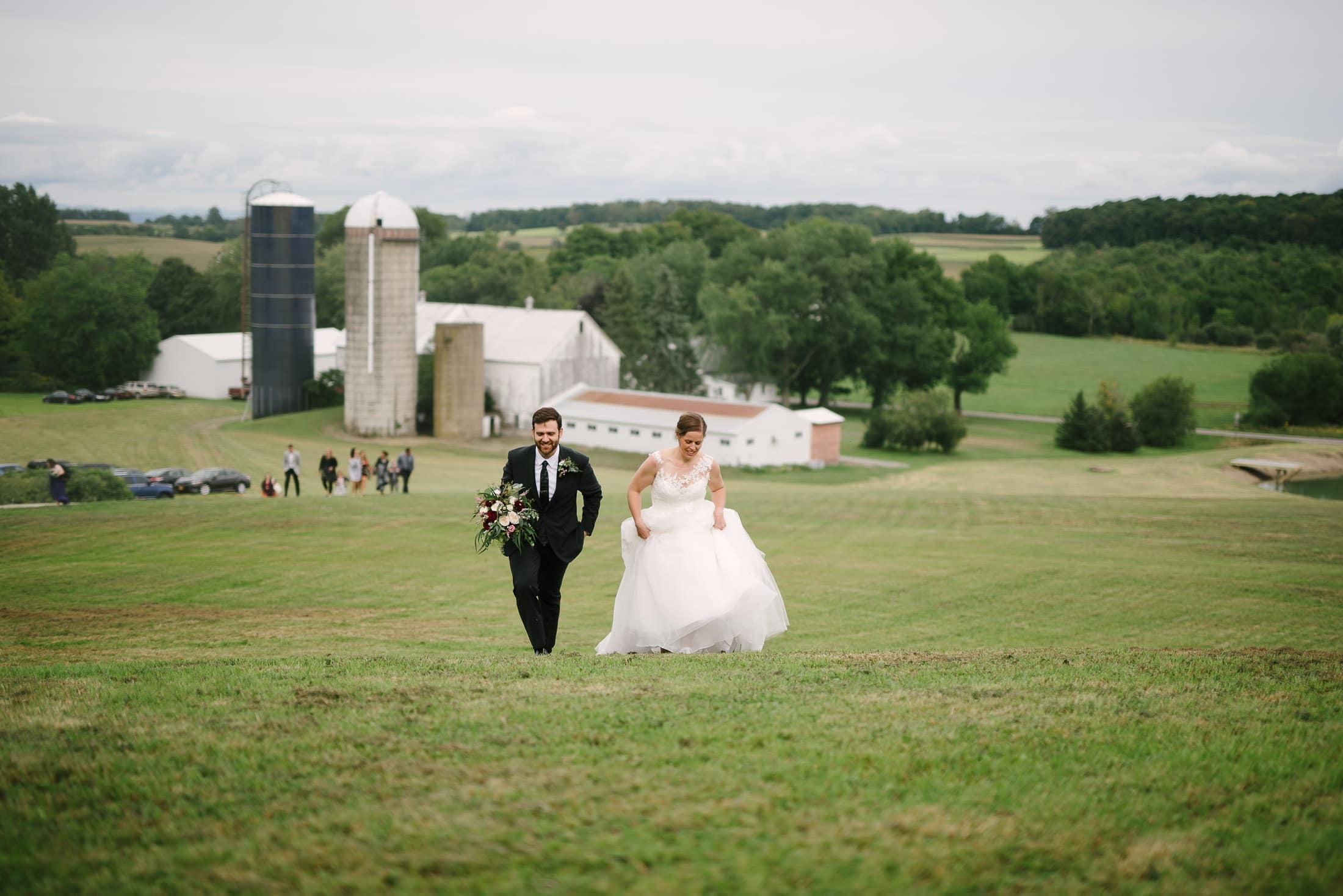 New York Wedding Dairy Farm