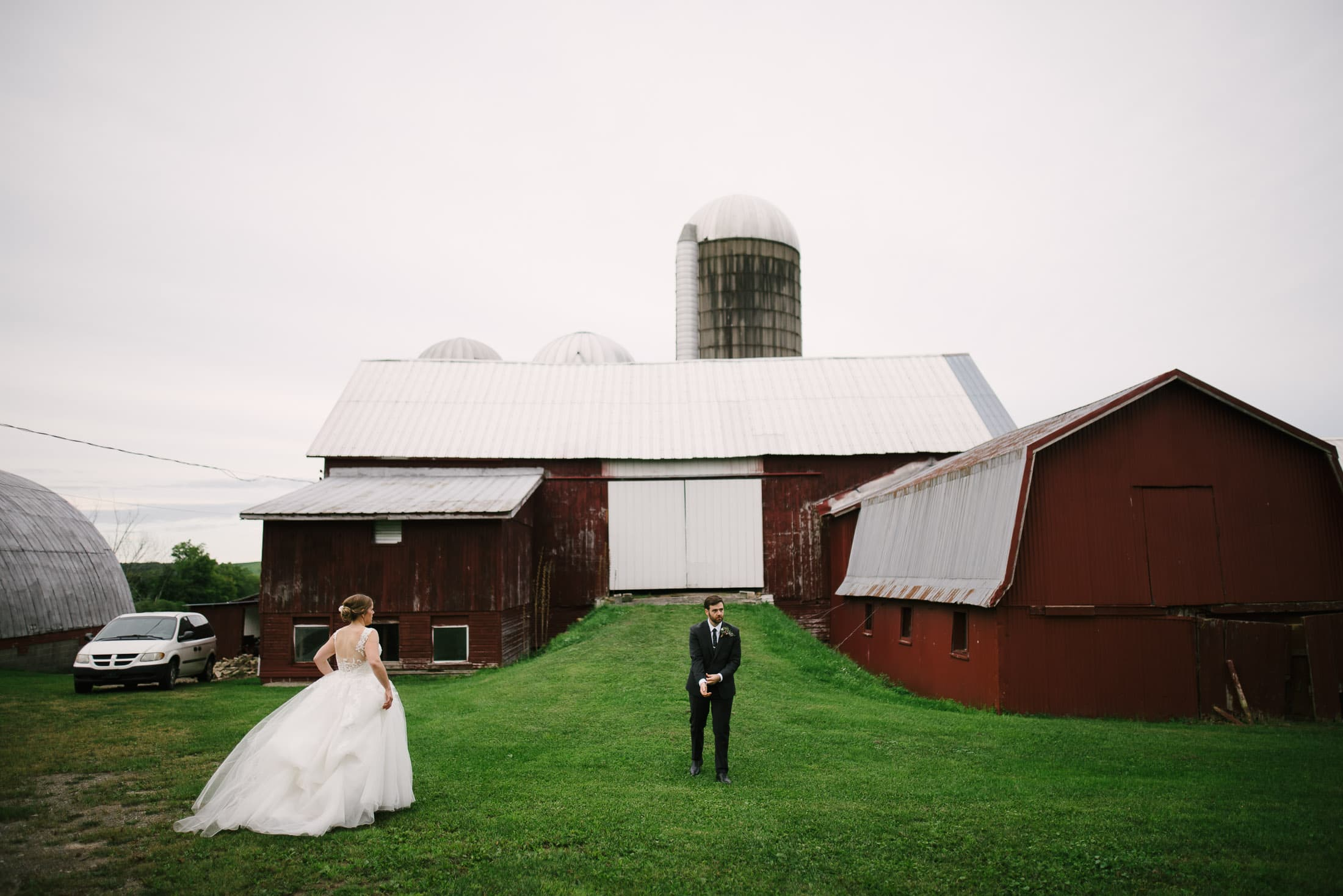 New York Dairy Farm Wedding