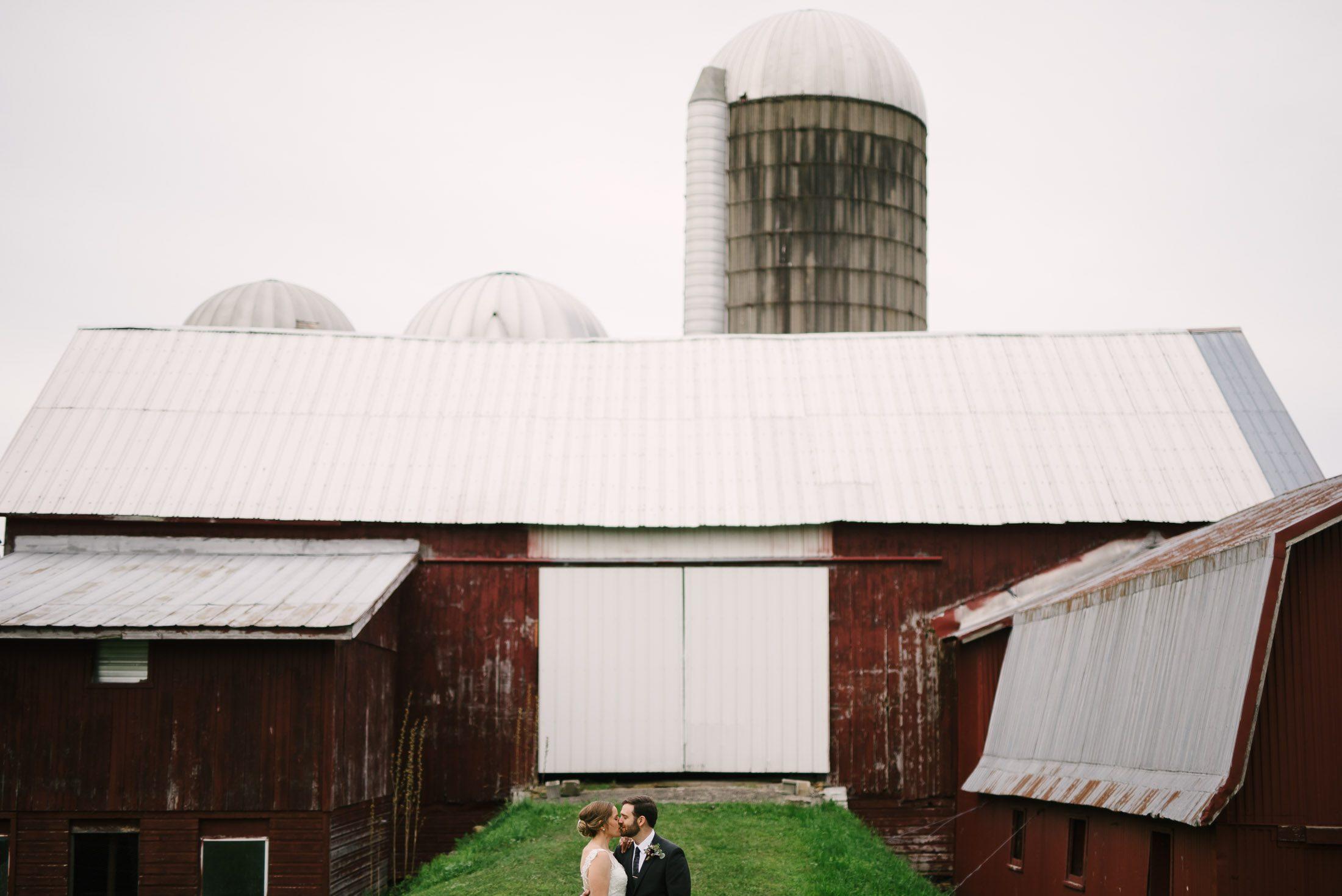New York Dairy Farm Wedding