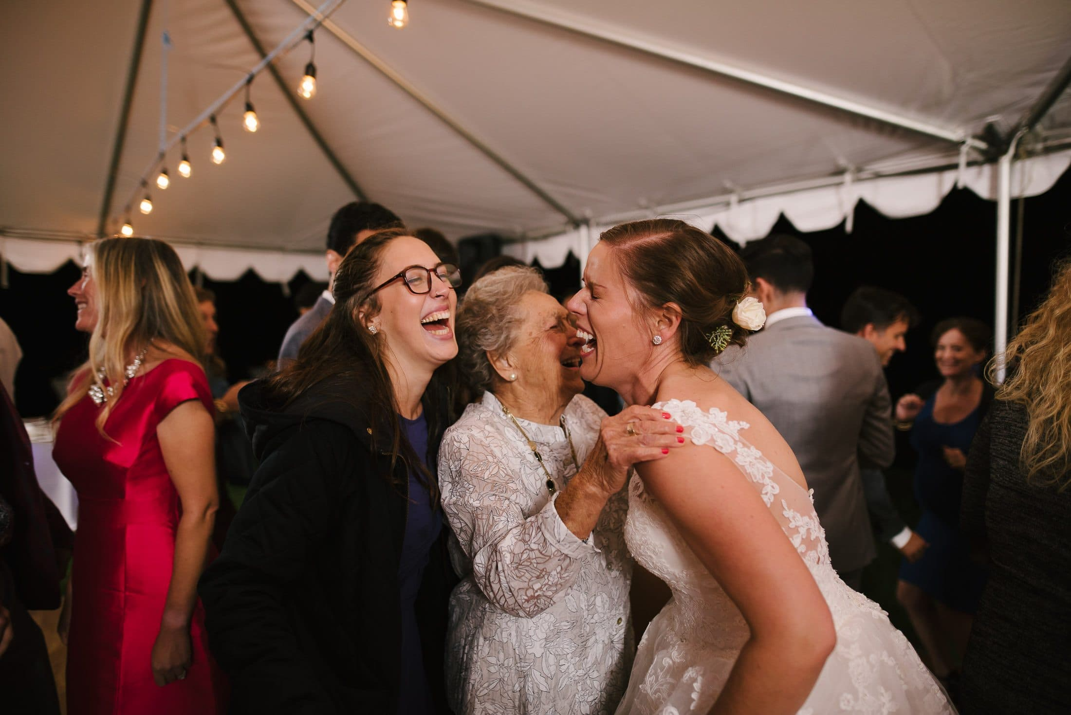 New York Wedding Dancing with Grandma