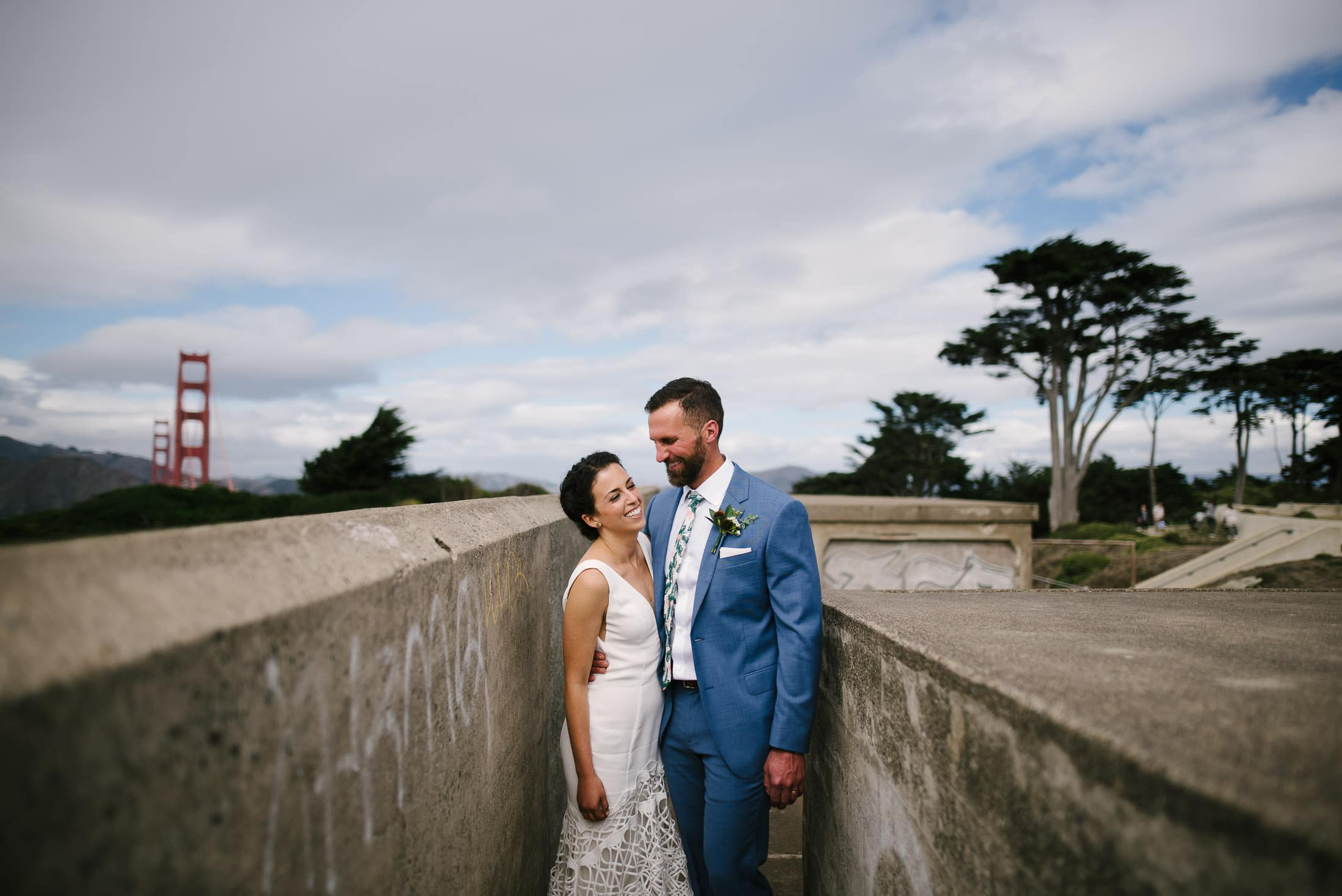 GOLDEN GATE CLUB WEDDING