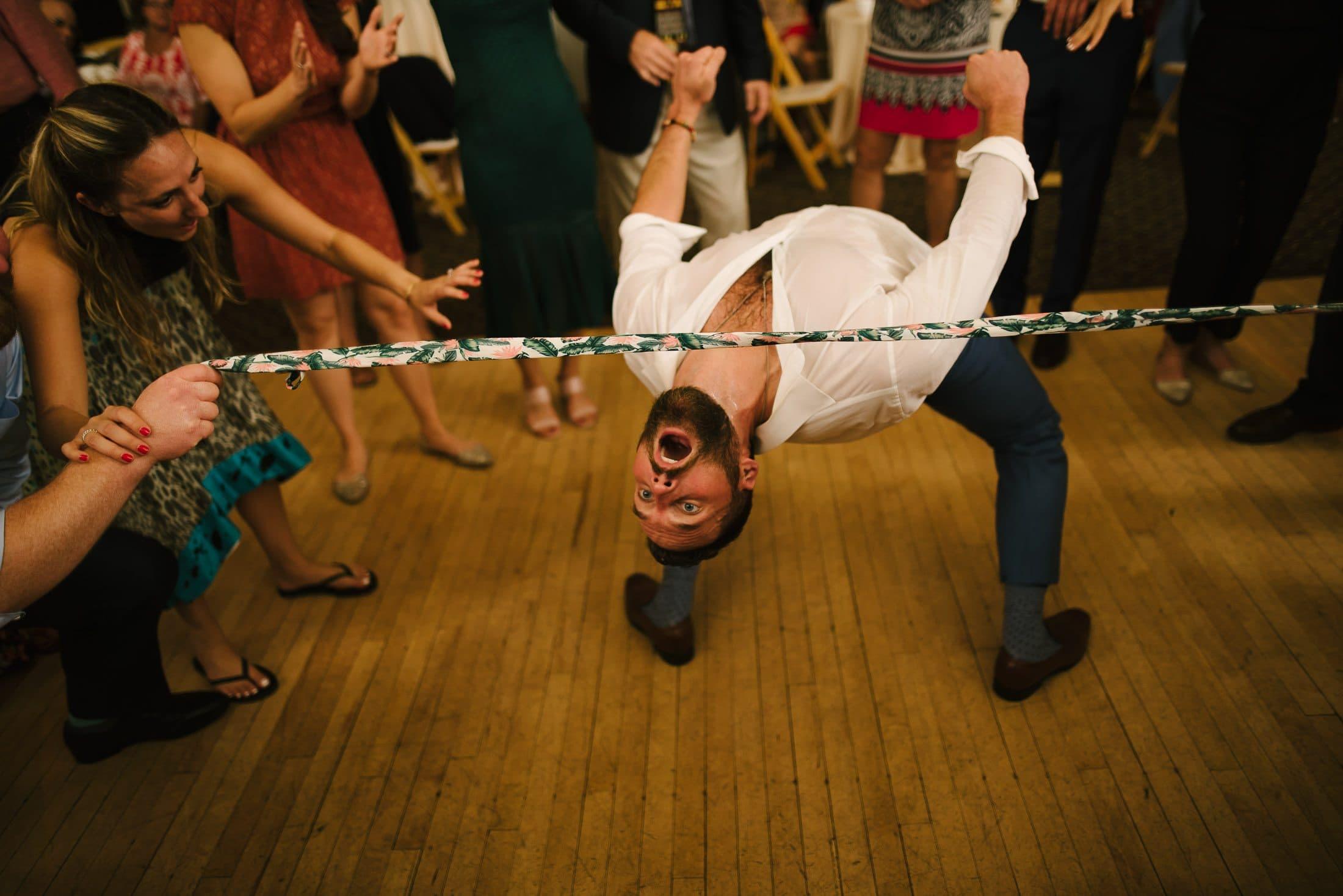 Golden Gate Club Wedding Party Dancing