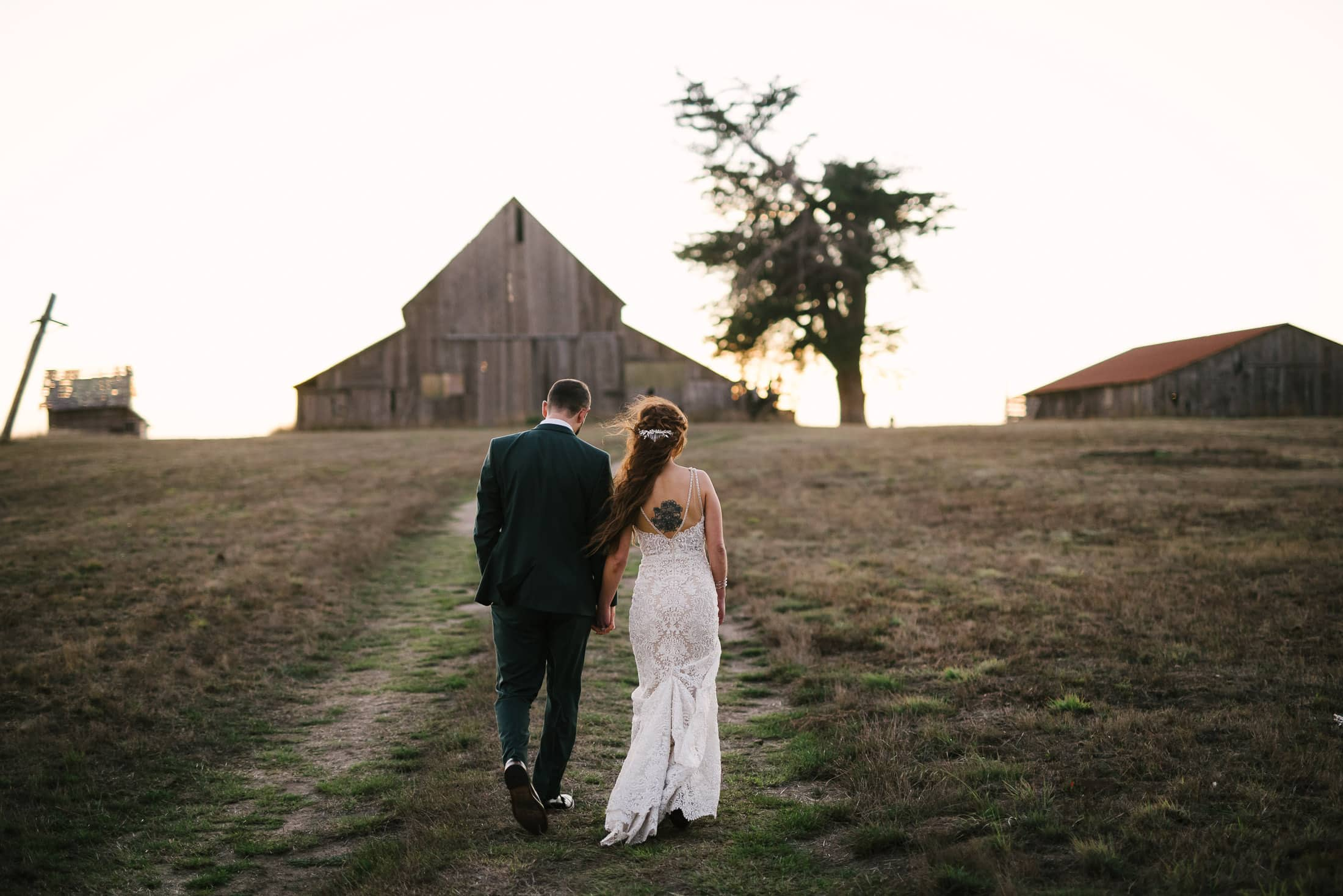 Spring Ranch Mendocino Wedding