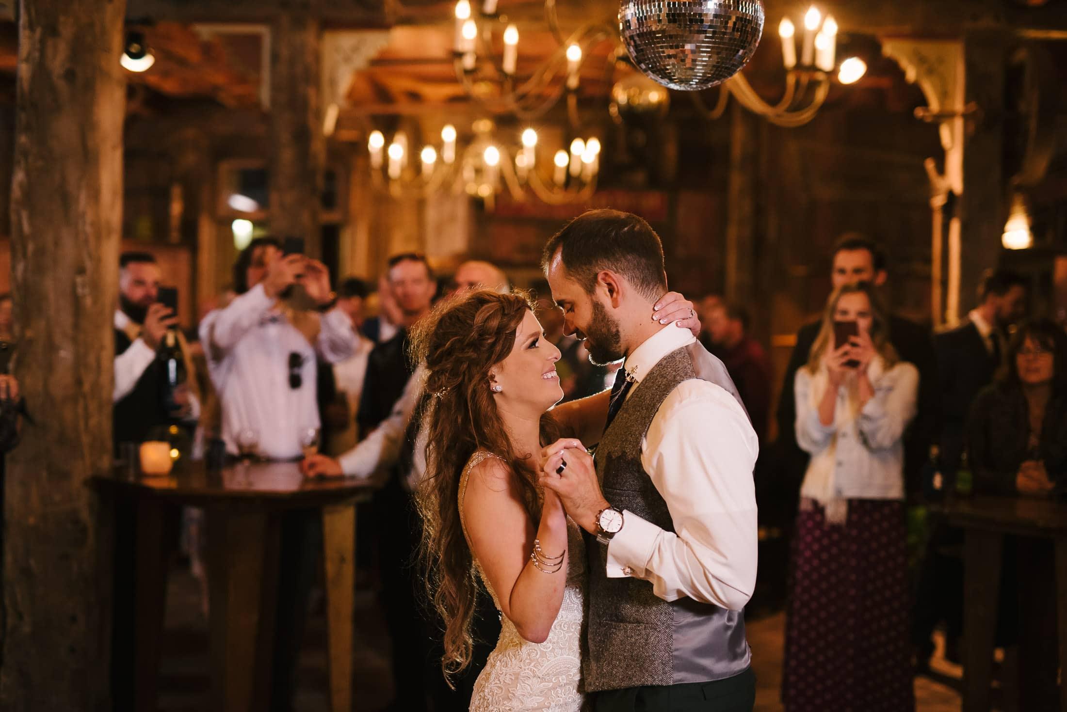 Spring Ranch Mendocino Wedding Dancing