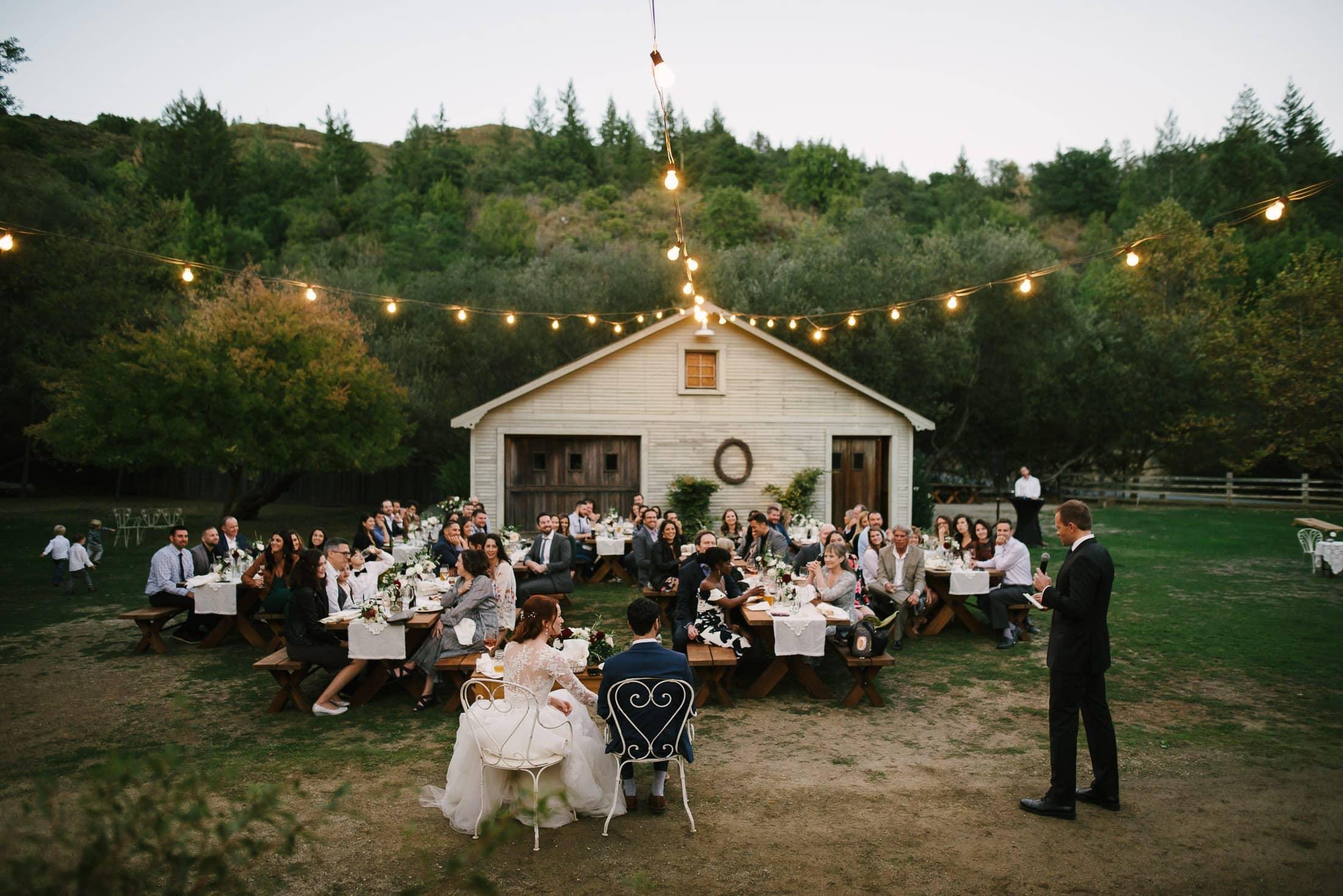 Radonich Ranch Wedding Reception