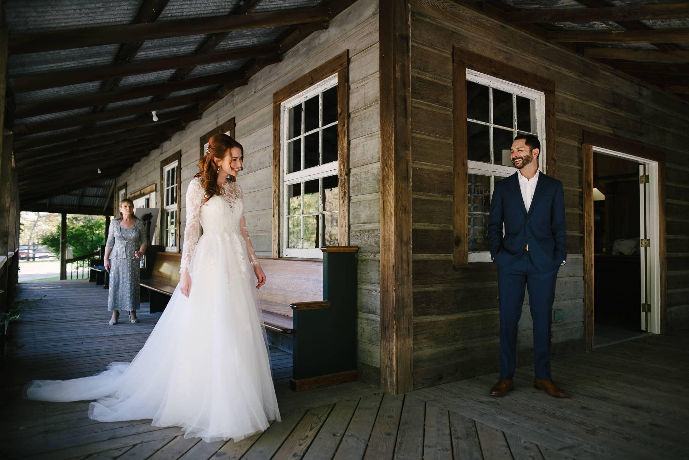 Radonich Ranch Wedding First Look