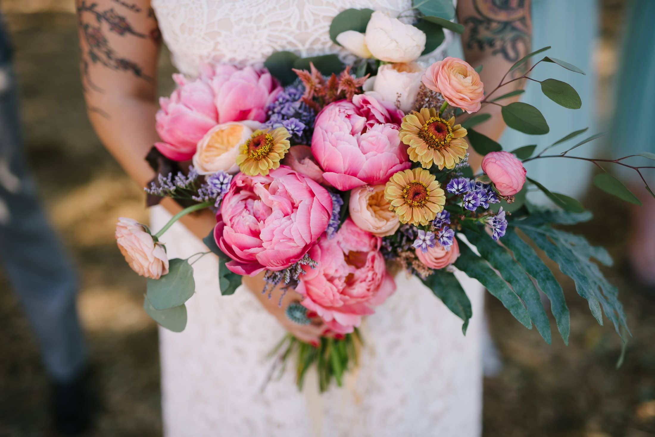 Forage and Flowers Bouquet