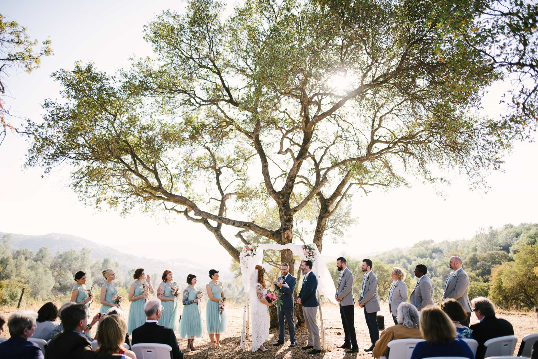 Big Table Ranch Wedding Ceremony