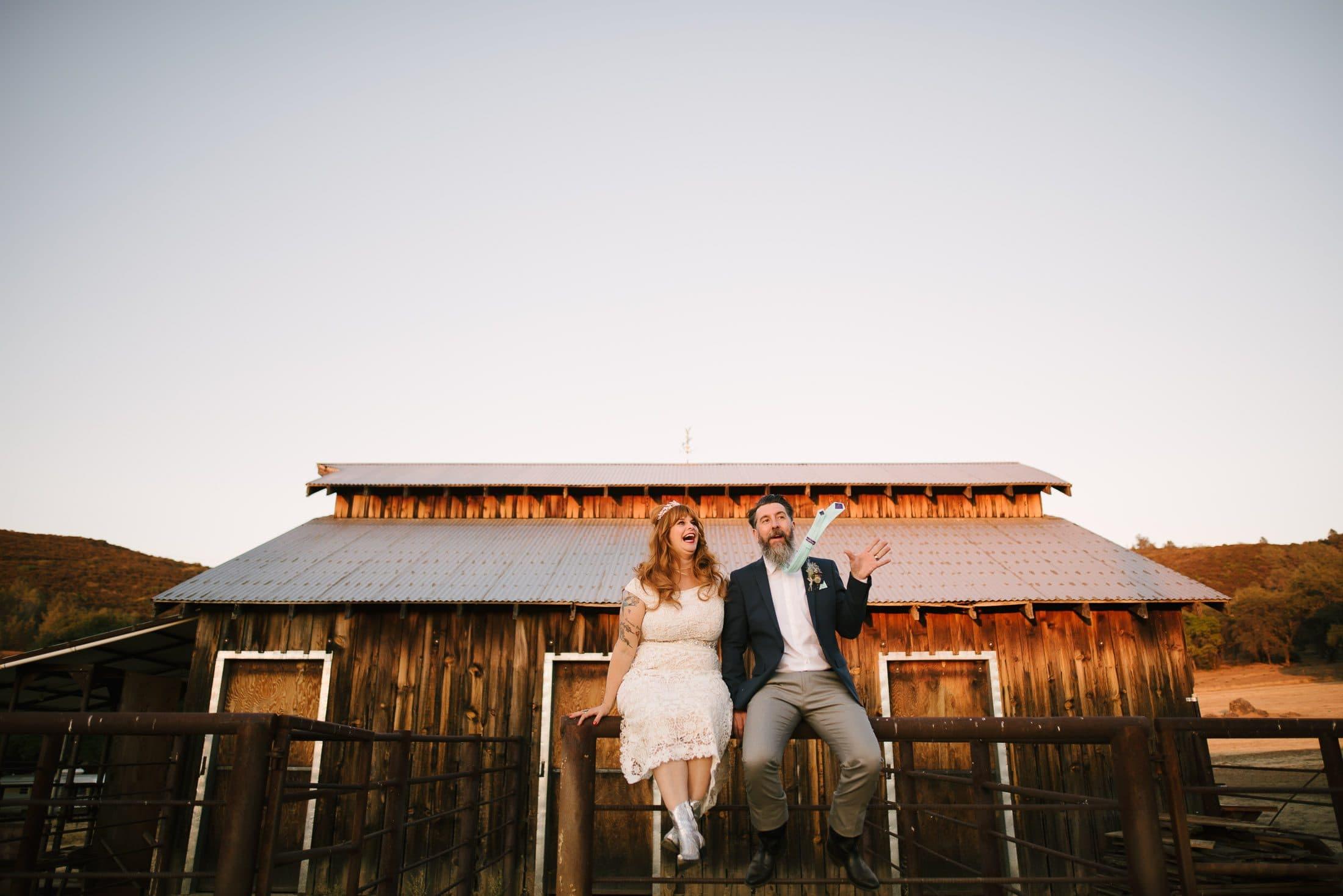 Big Table Ranch Wedding