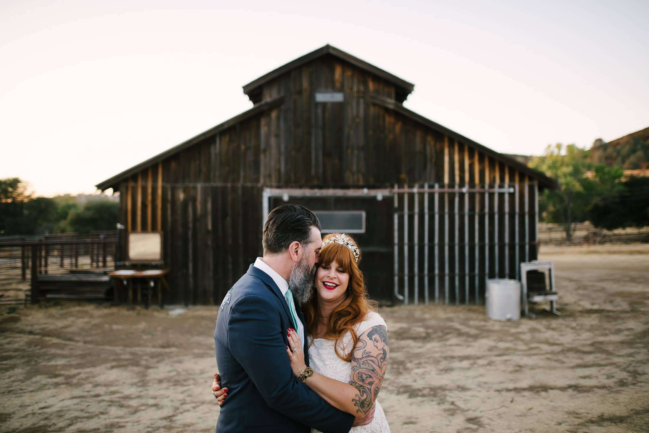 Big Table Ranch Wedding Portrait