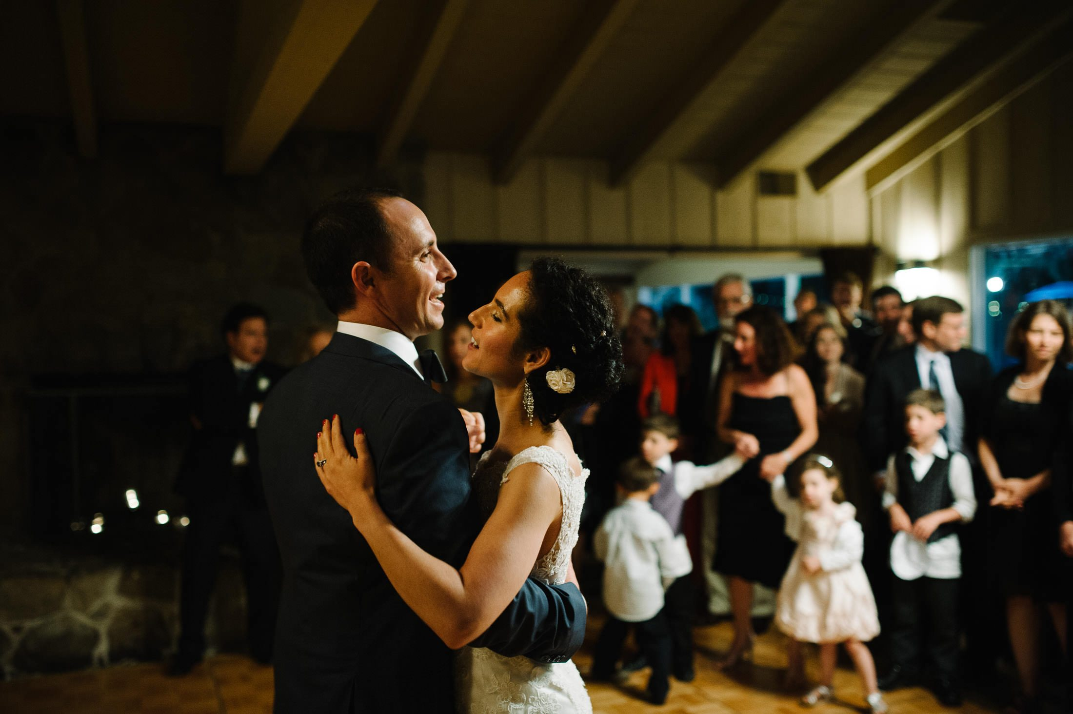 Dancing at Jewish Wedding at Mountain Terrace