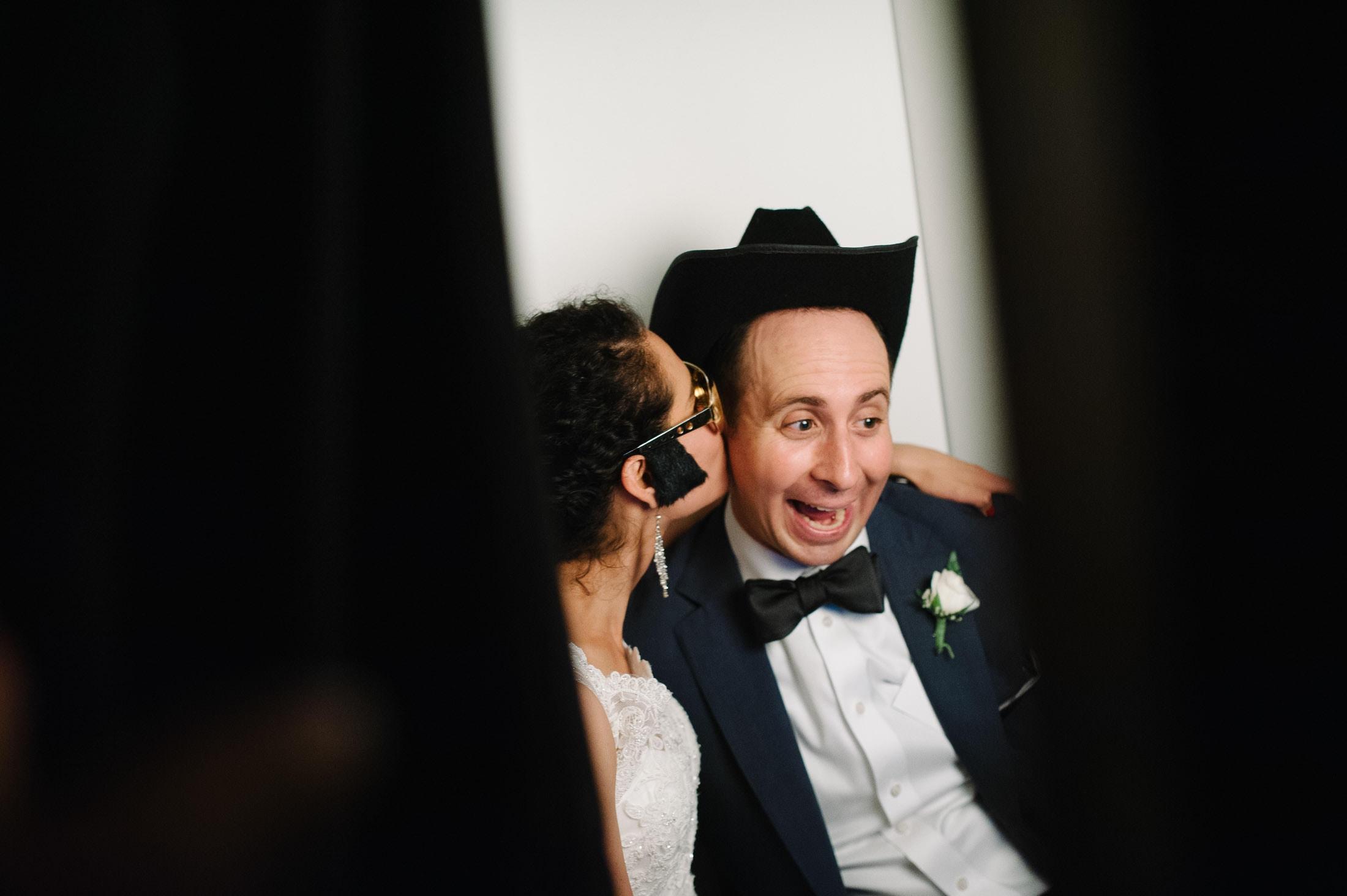 Photo Booth at Jewish Wedding at Mountain Terrace