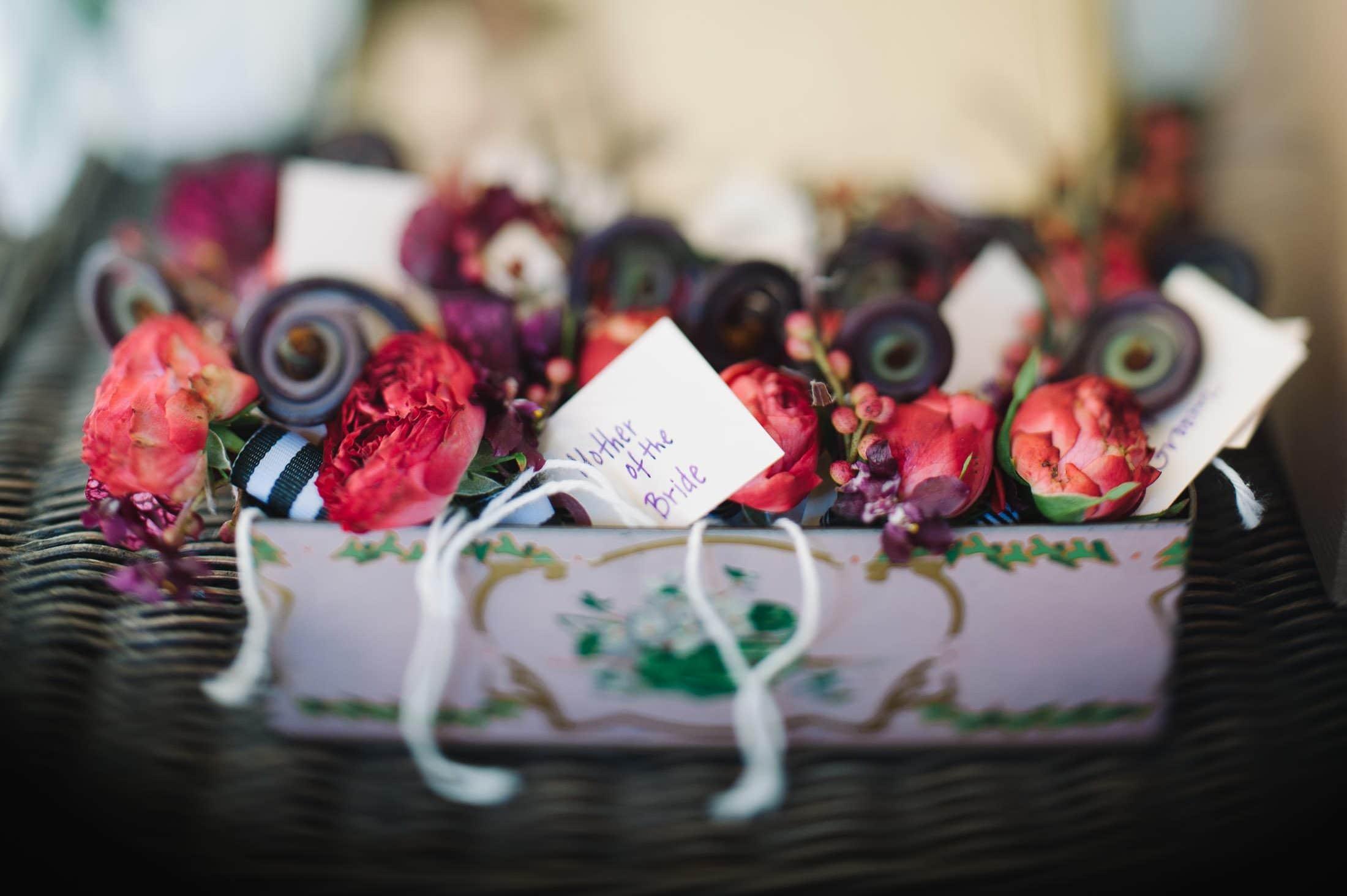 Flora Grubb flower at Atherton Wedding