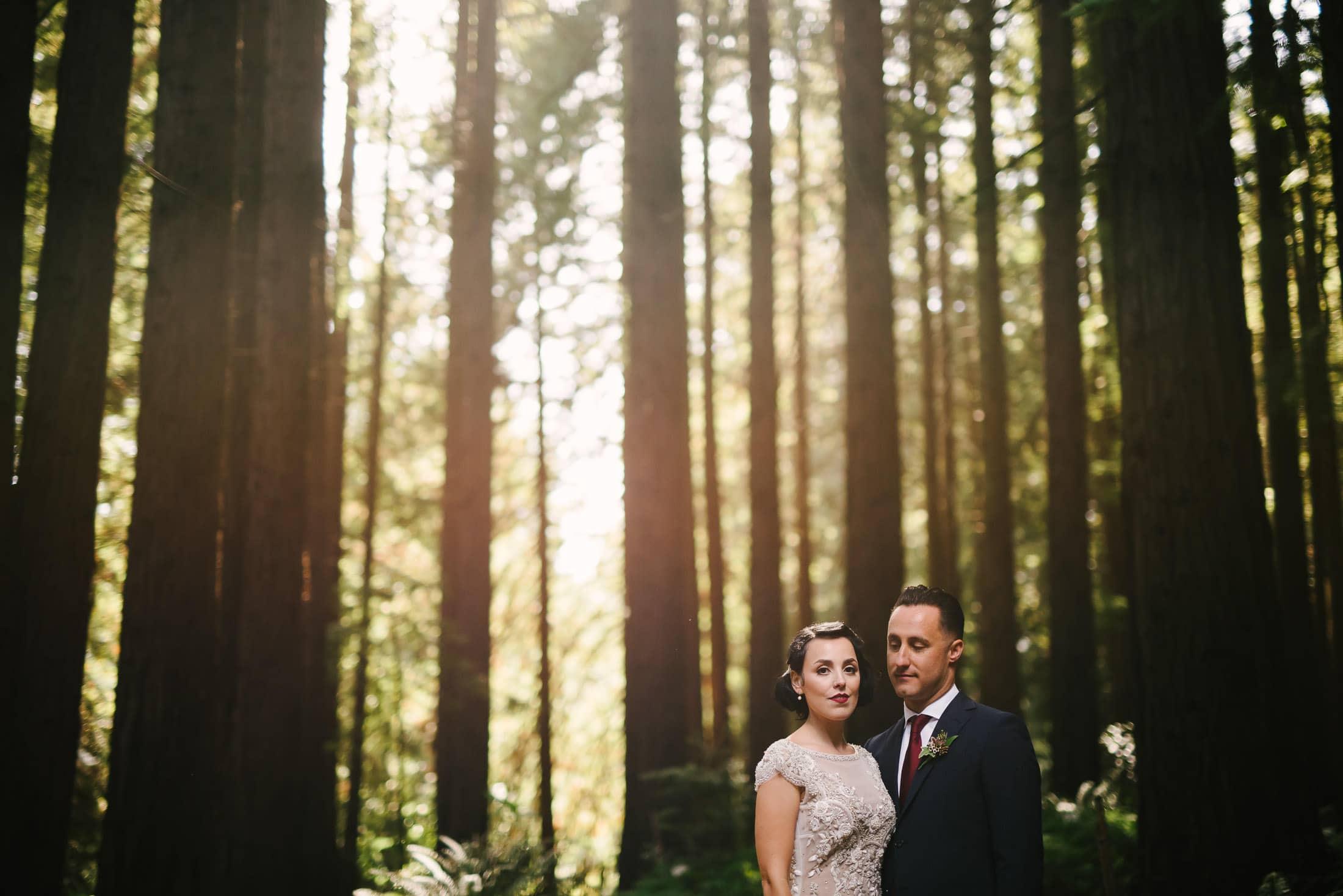 UC Berkeley Botanical Garden Wedding