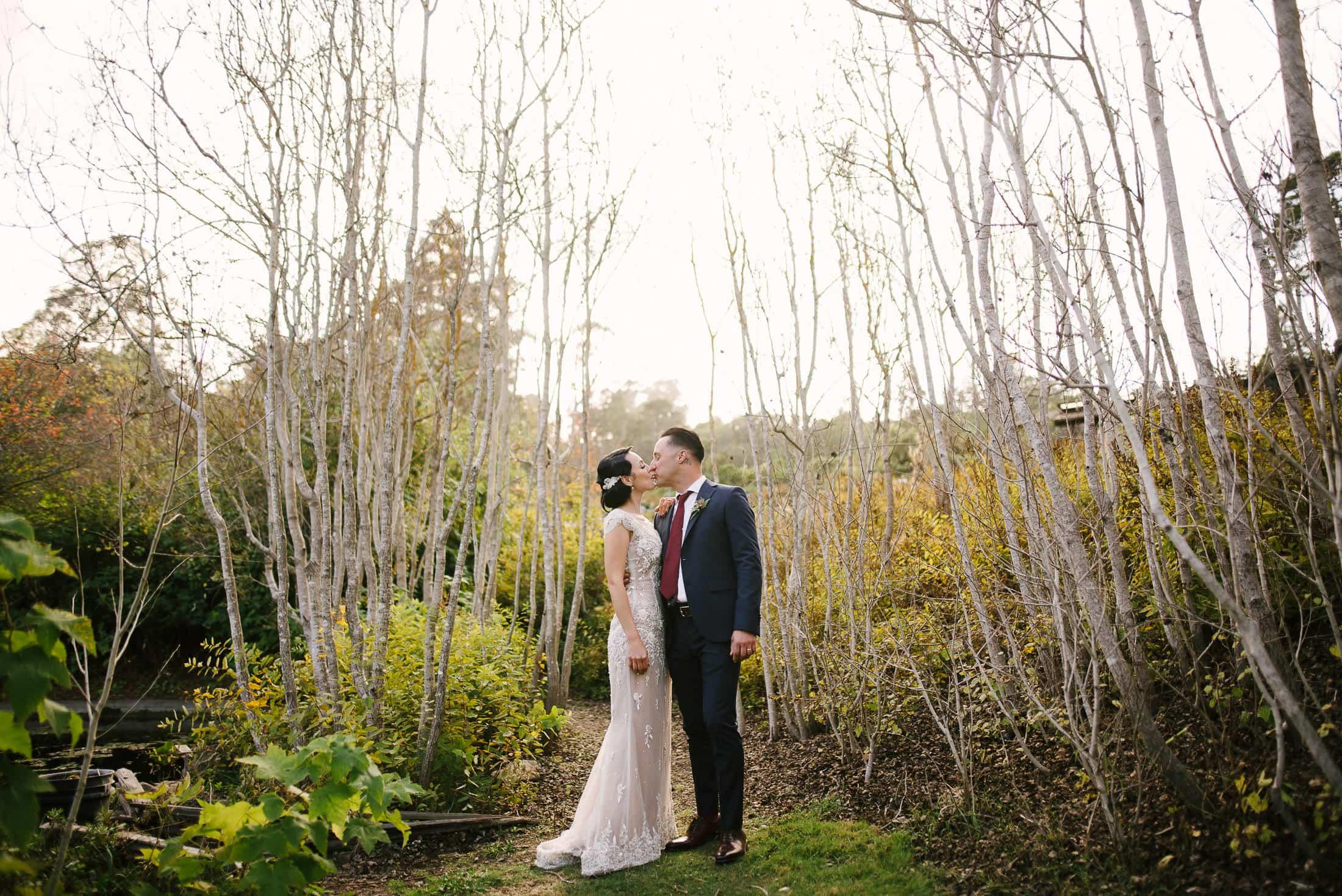 Botanical Garden Wedding Oakland